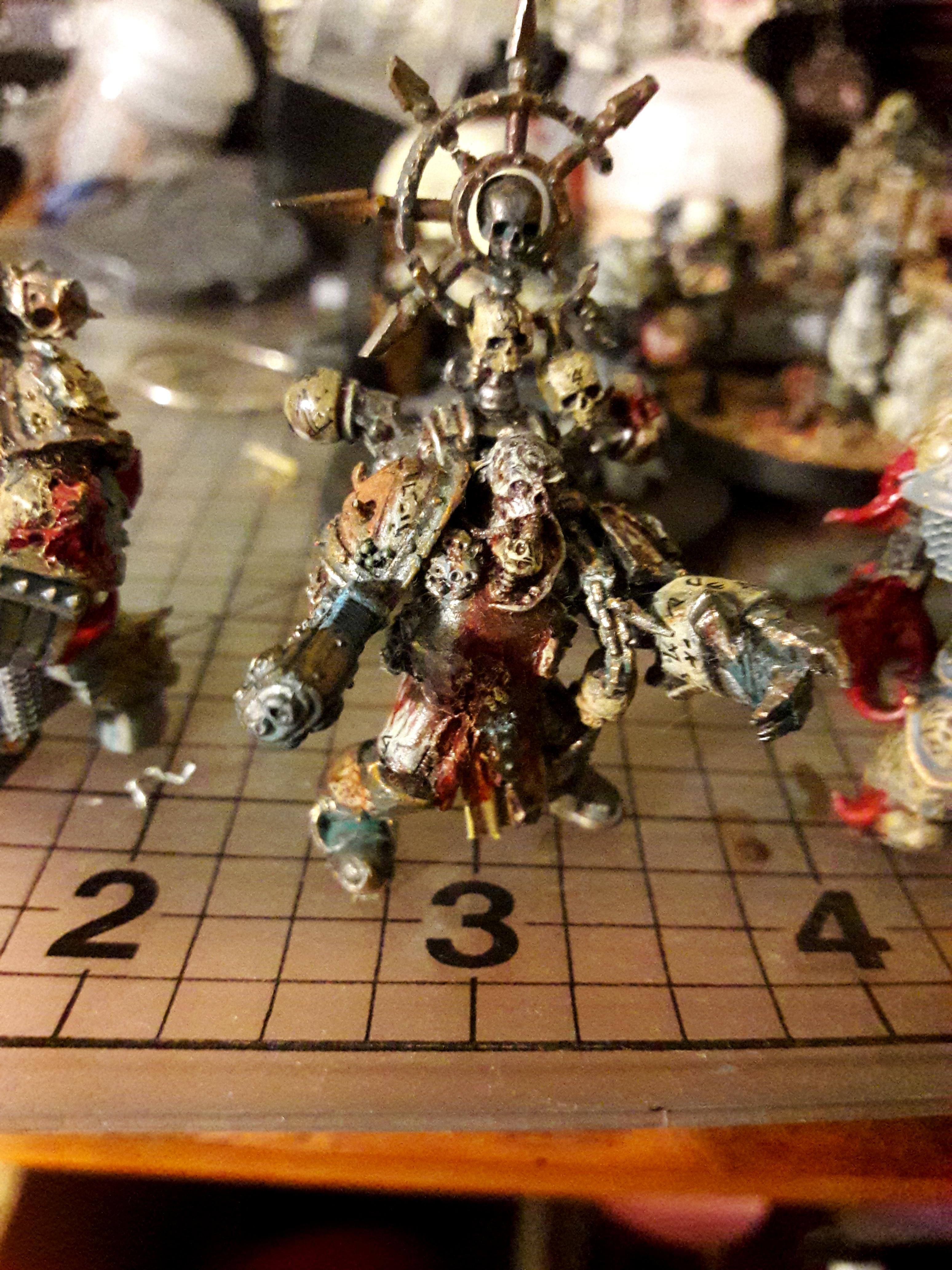 Chaos, Death Guard, Nurgle, The Tainted, Warhammer 40,000