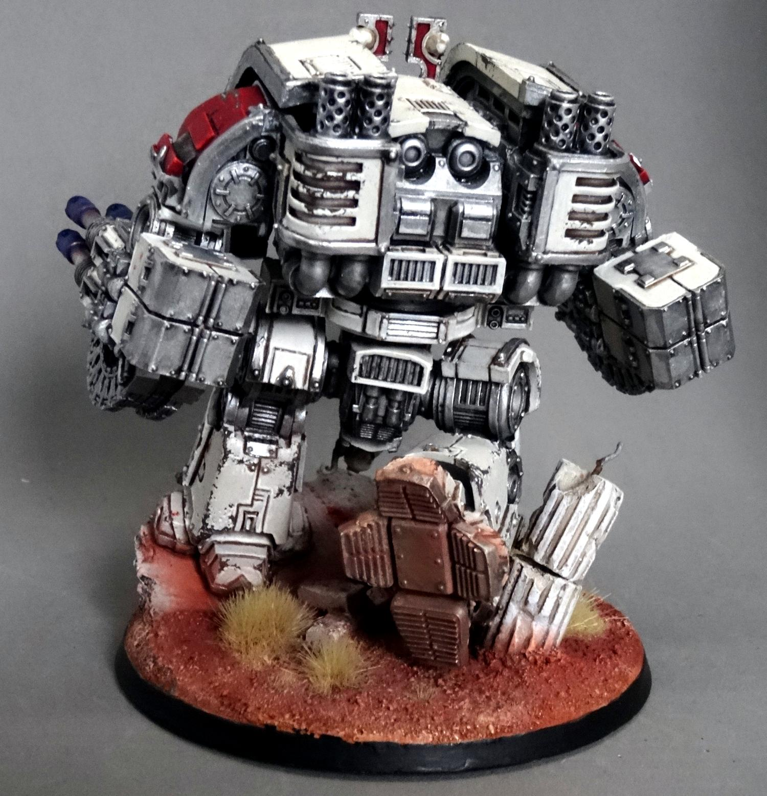 Chaos, Chaos Space Marines, Conversion, Dreadnought, Forge World, Helbrute, Khorne, Leviathan, World Eaters