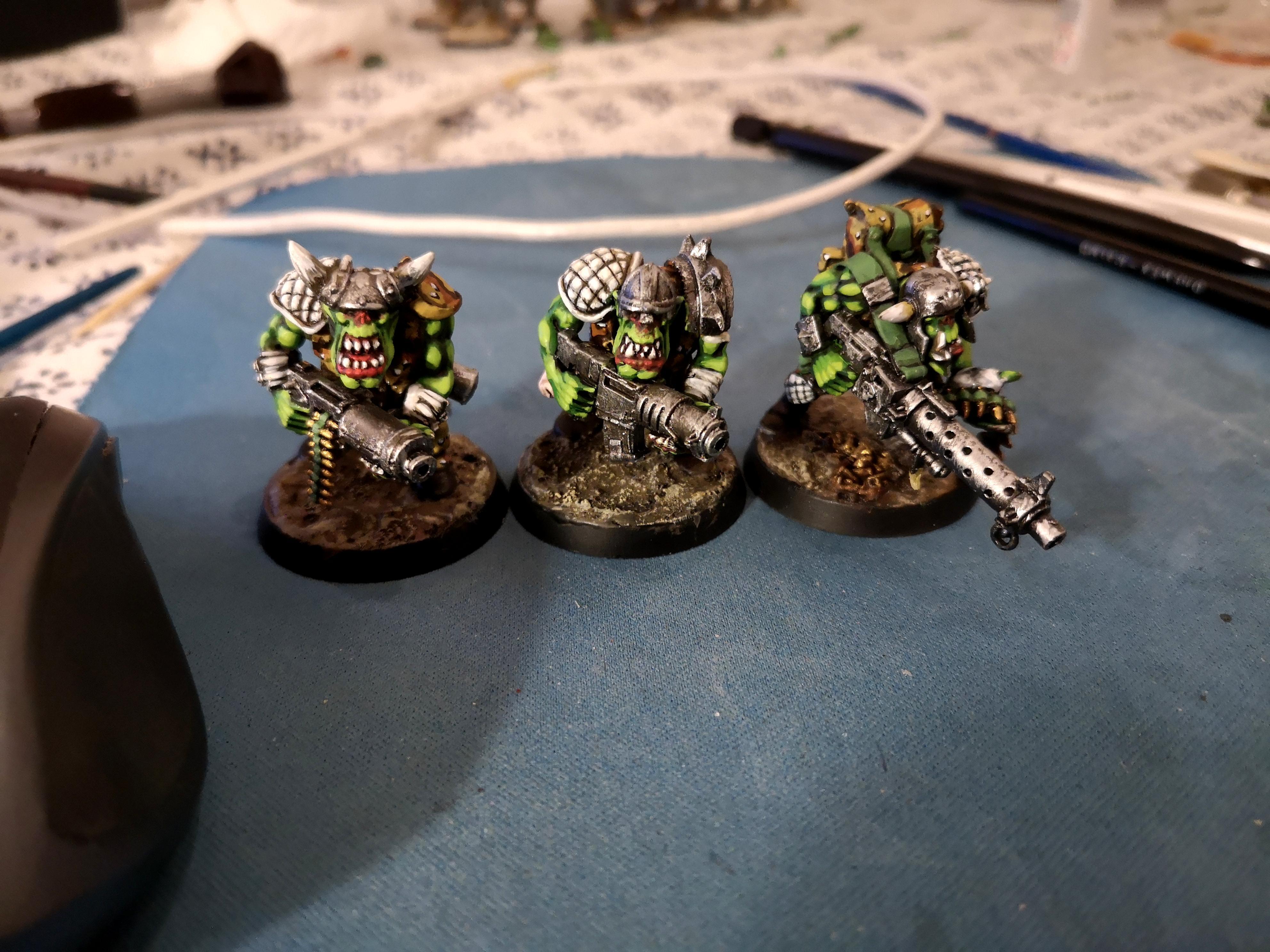 'ard Boyz, Blood Axe, Camouflage, Orks