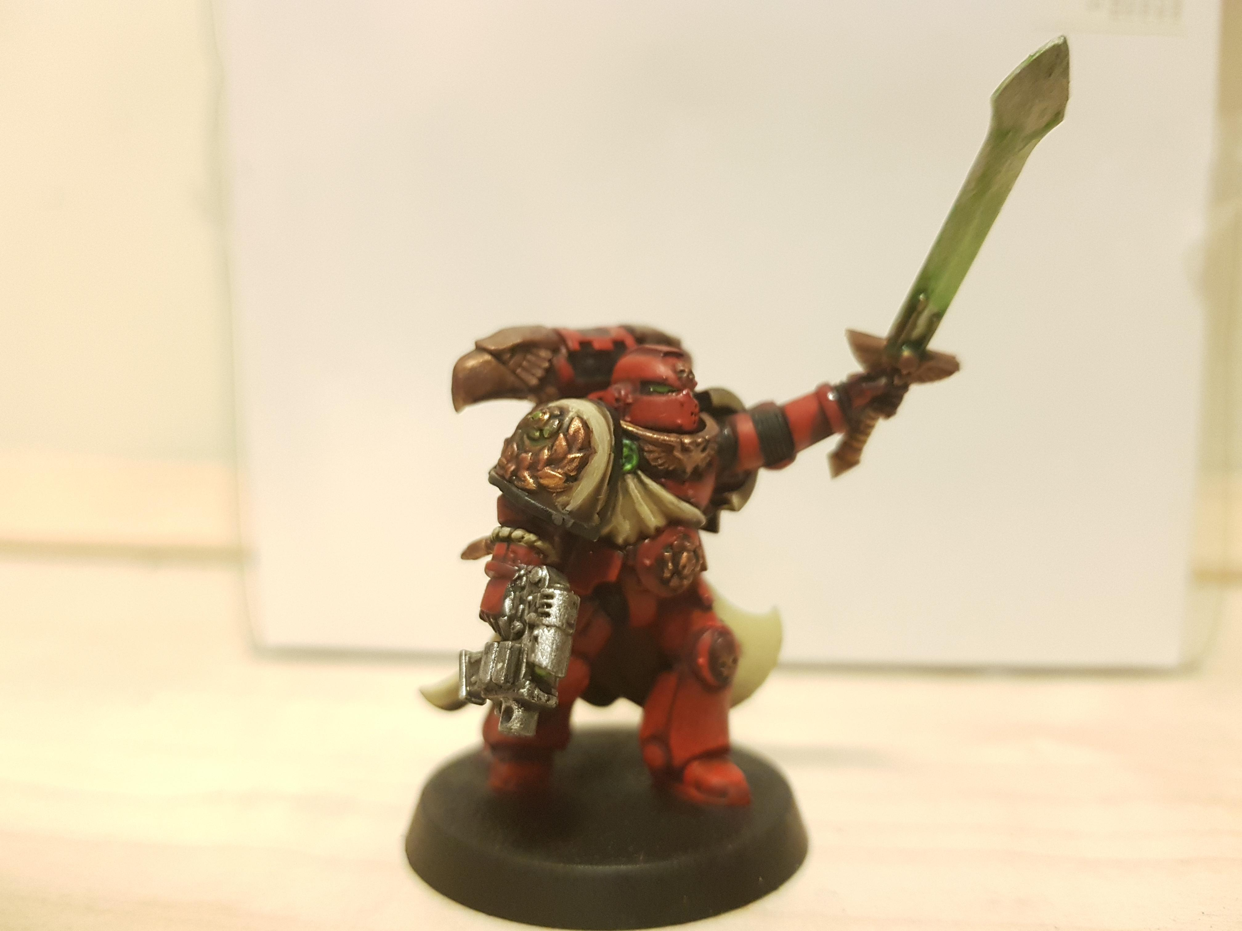 Blood Ravens, Chapter Champion, Deadshot, Heracles Nike, Heroes Of Aurelia, Space Marines