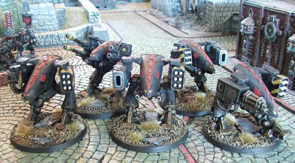 Dreadnought, Ed209, Oldhammer, Out Of Production, Space Crusade