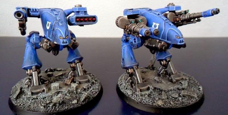 Dreadnought, Space Crusade, Ultramarines