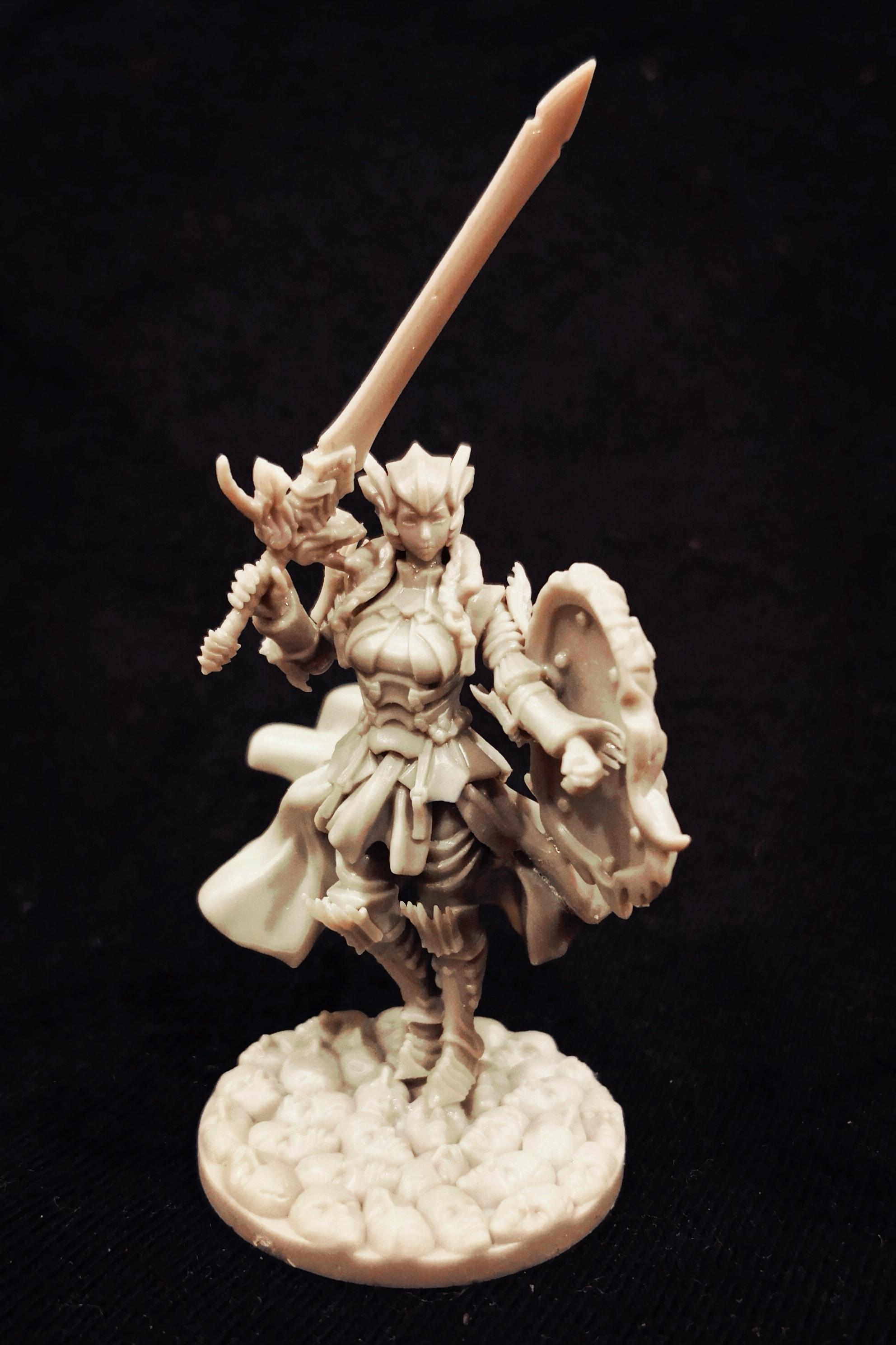 Female, Kingdom Death, Knights