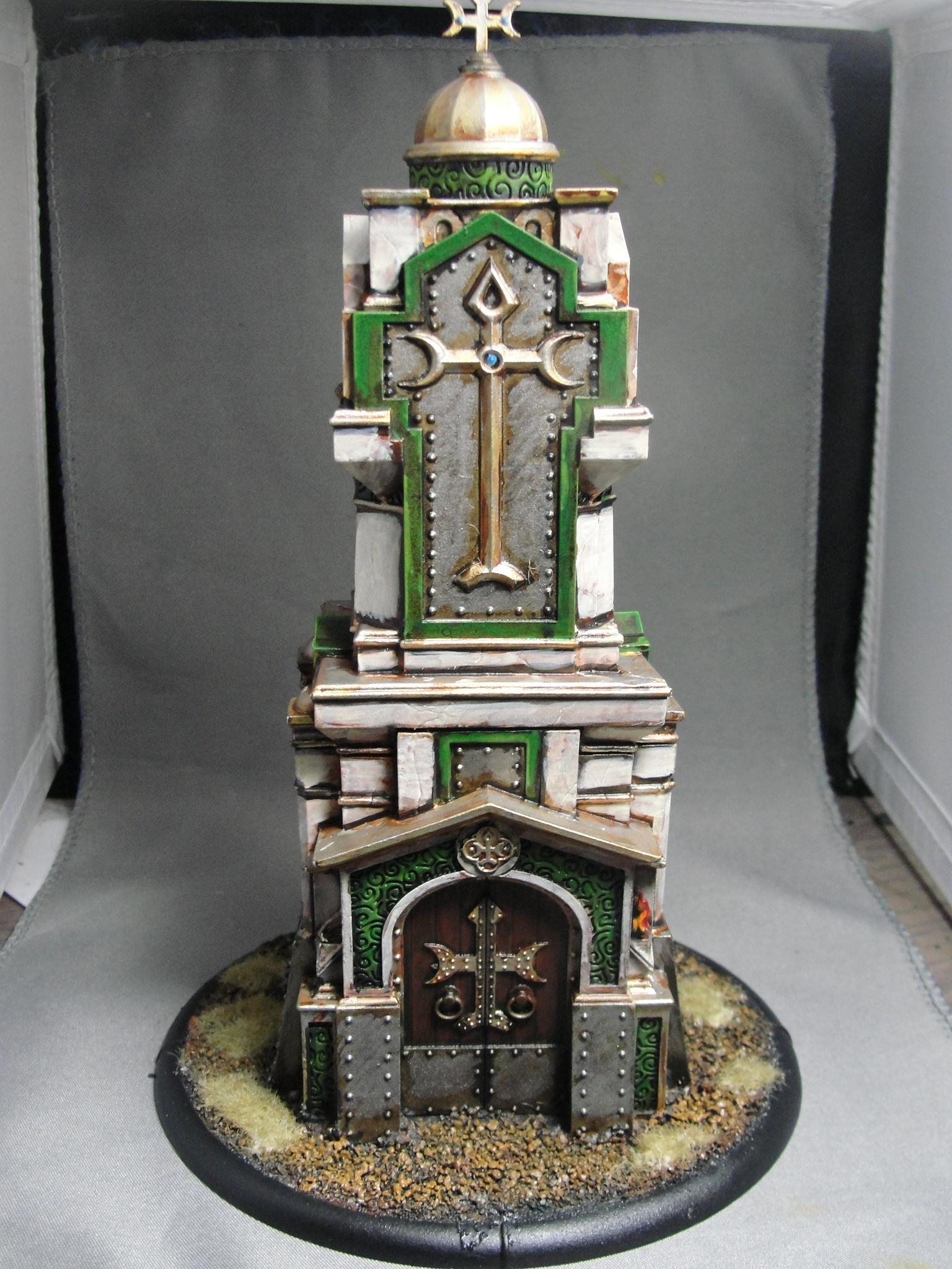 Shrine, Temple, Terrain, Warmachine