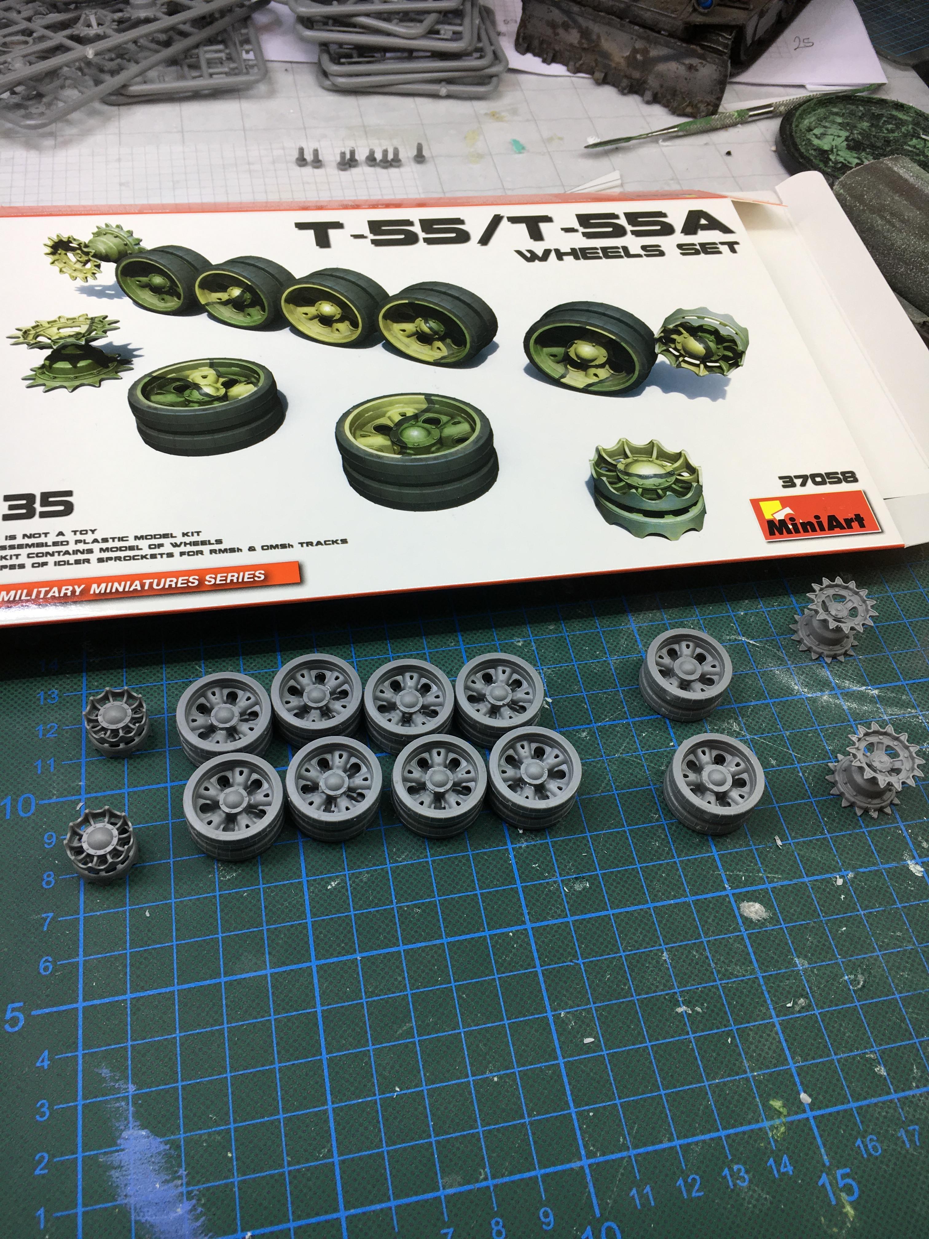 wheels assembled