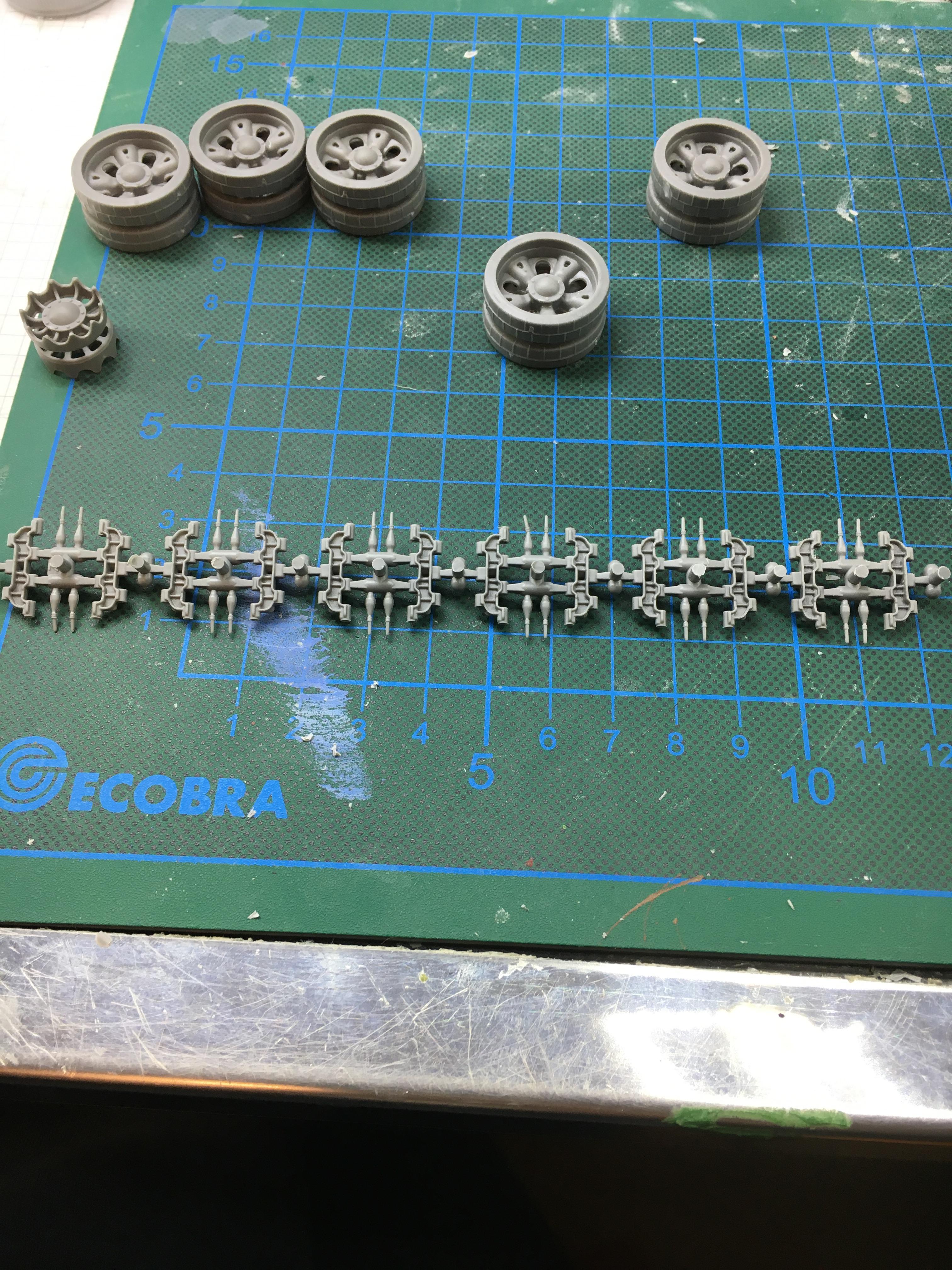 assembling tracks