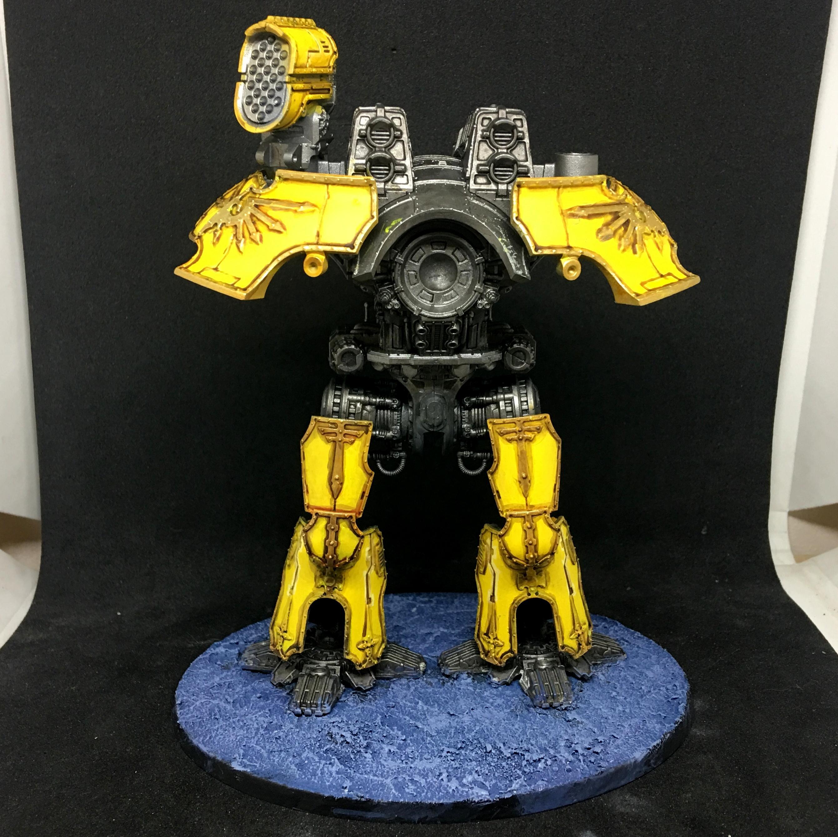 Adeptus Titanicus, Legio Fureans, Tiger Eyes, Titan, Titanicus, Warhammer 40,000, Warlord