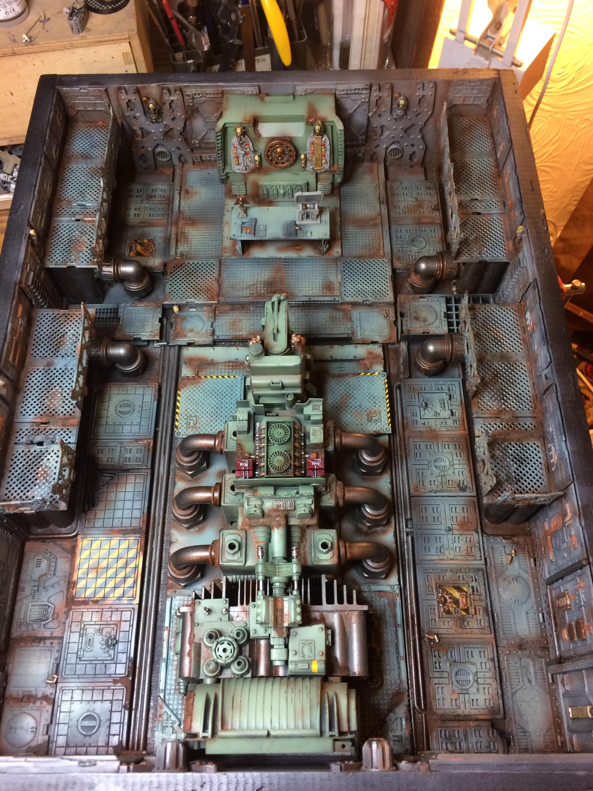 Control Room, Custom, Inq28, Inquisimunda, Modular, Necromunda, Scratch Build, Space Hulk, Spacehulk, Terrain, Warhammer 40,000