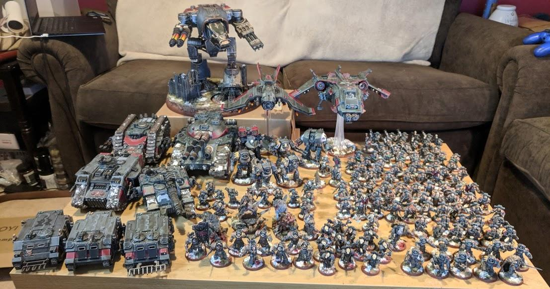 Space Wolves Family Photo