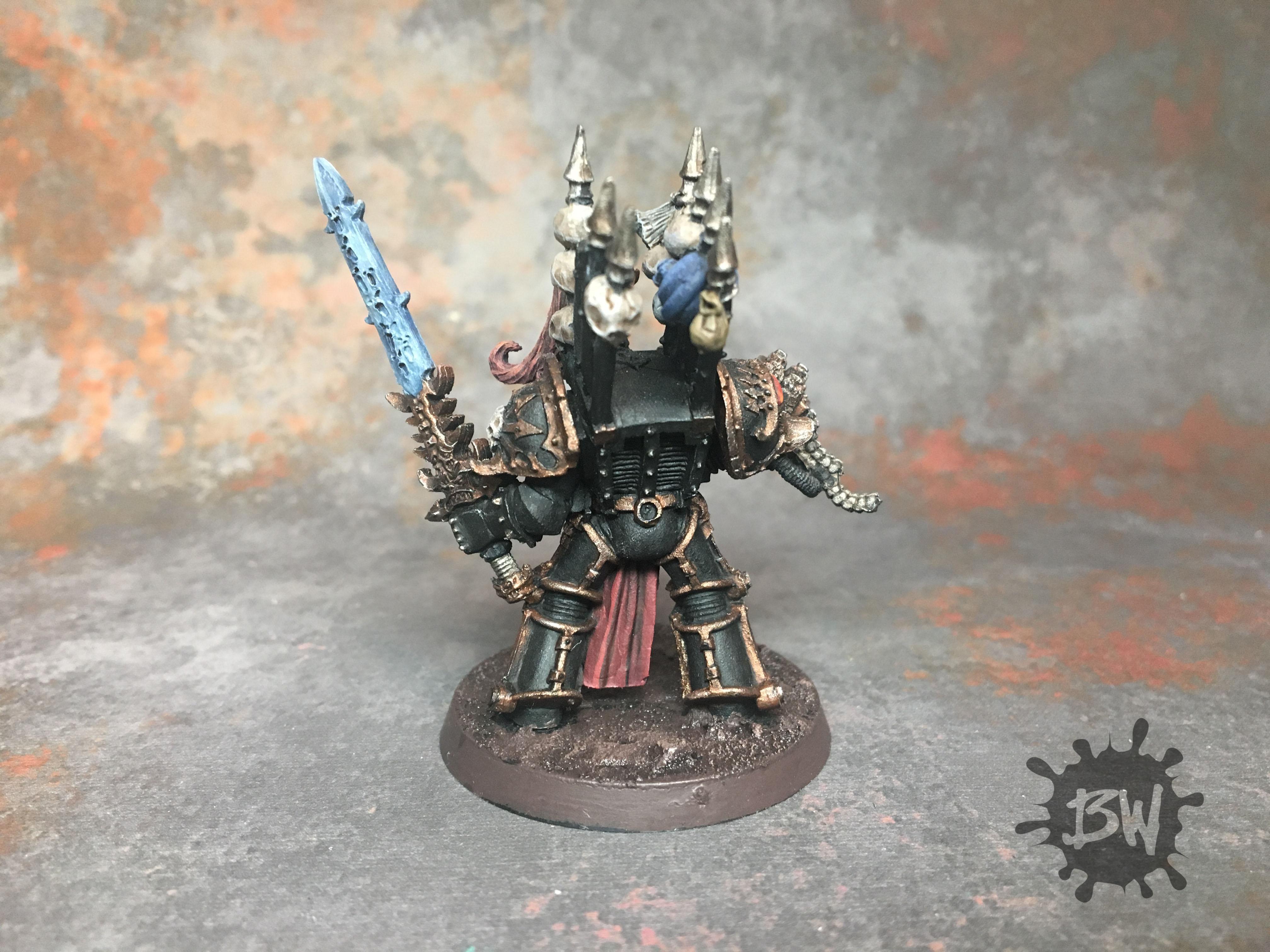 Abaddon The Despoiler, Bawpainting, Chaos, Commission, Games Workshop, Painting, Warhammer 40,000, Warhammer Fantasy
