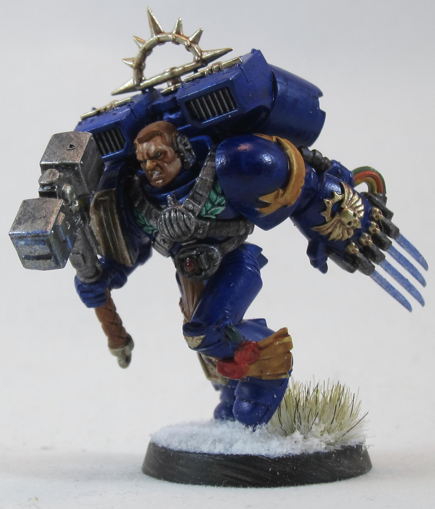 Captain, Jump Pack, Space Marines