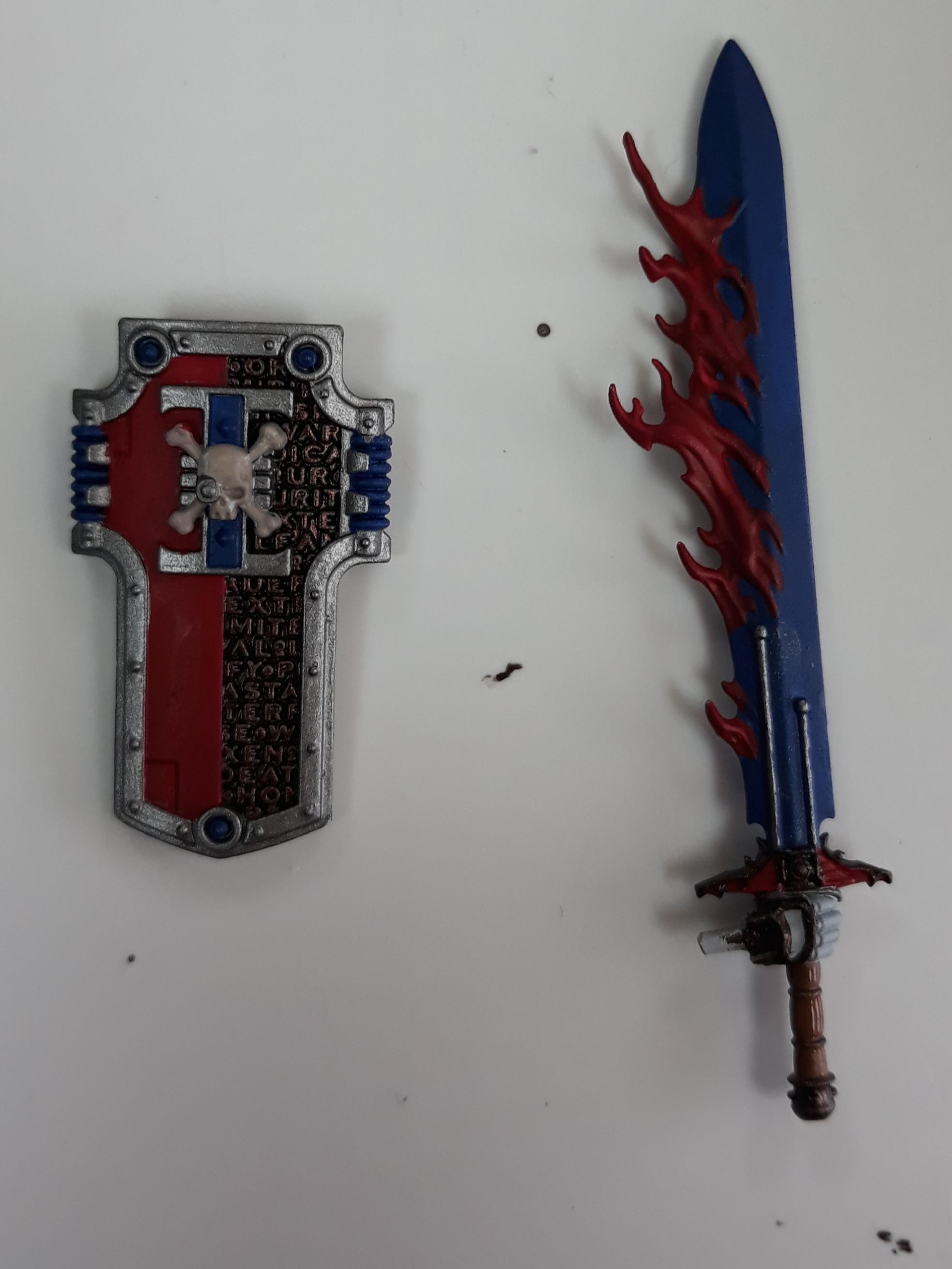 Draigo/robute sheild and Sword WIP 3