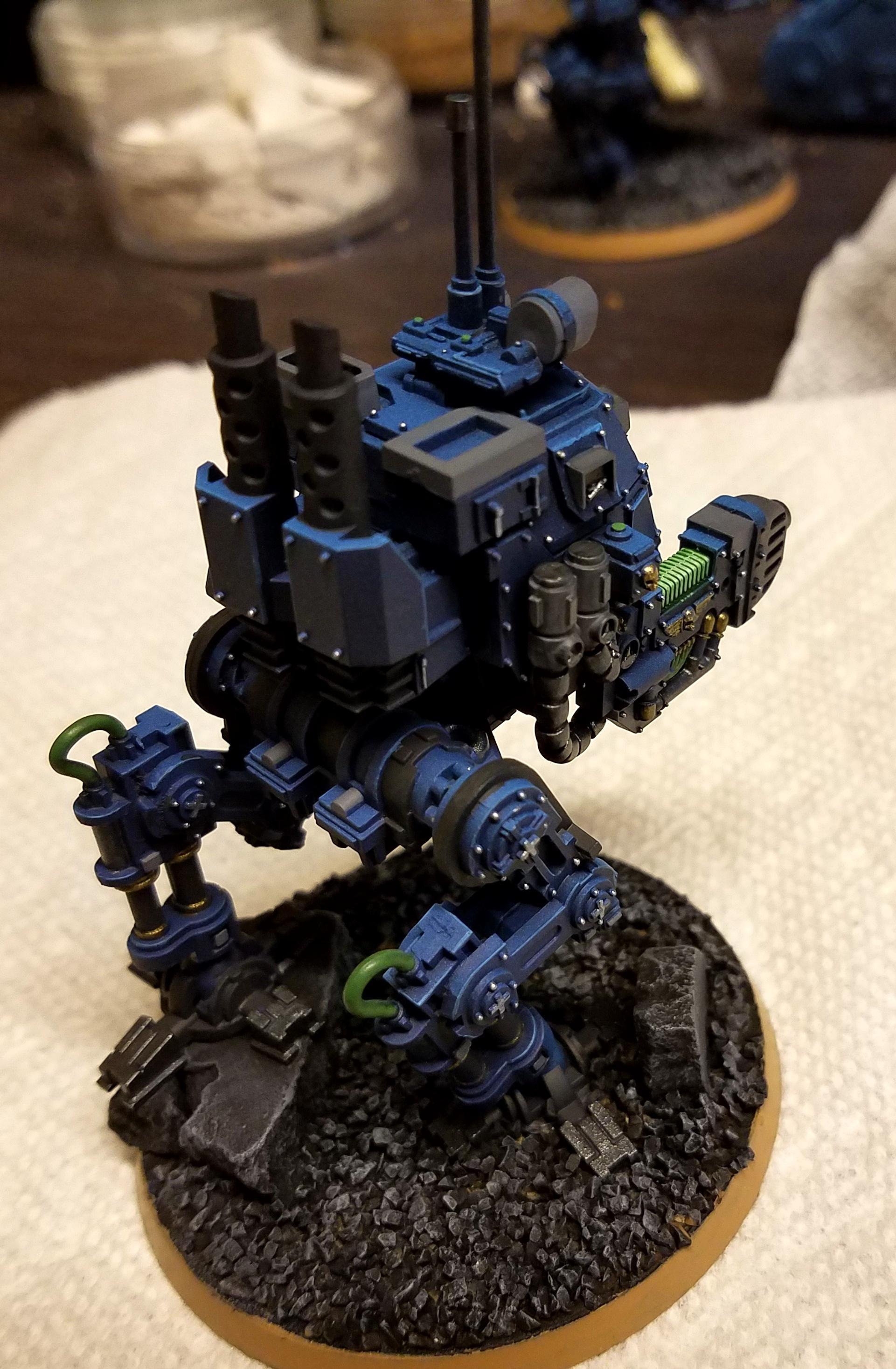 Imperial, Plasma Cannon, Sentinel, Walker, Warhammer 40,000