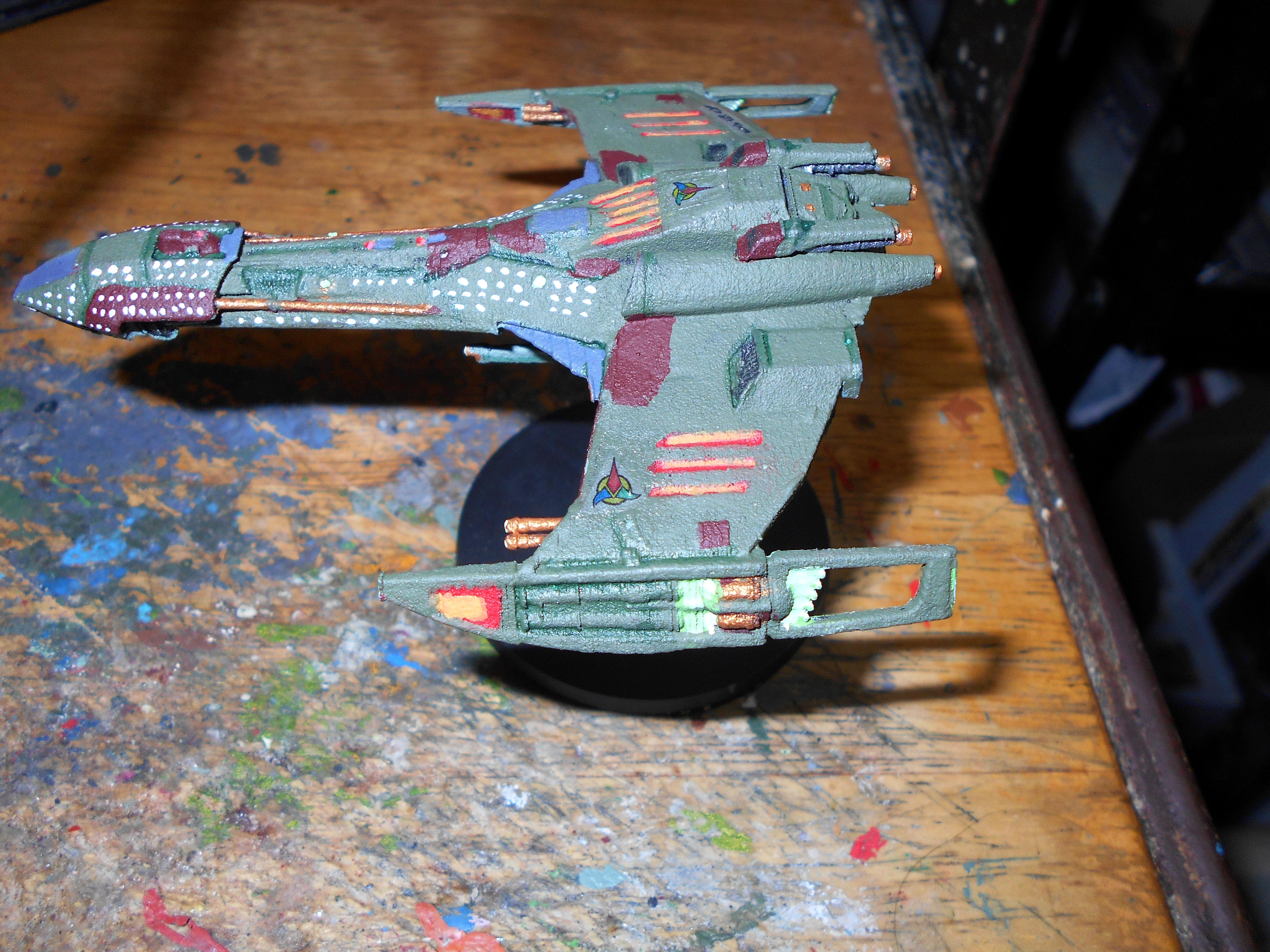 Klingon, Space Ship, Star Trek