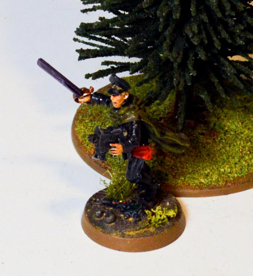 Commissar, Imperial Guard, Tanith