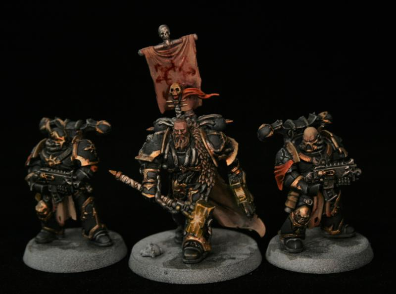 Black Legion, Blackstone Fortress, Chaos