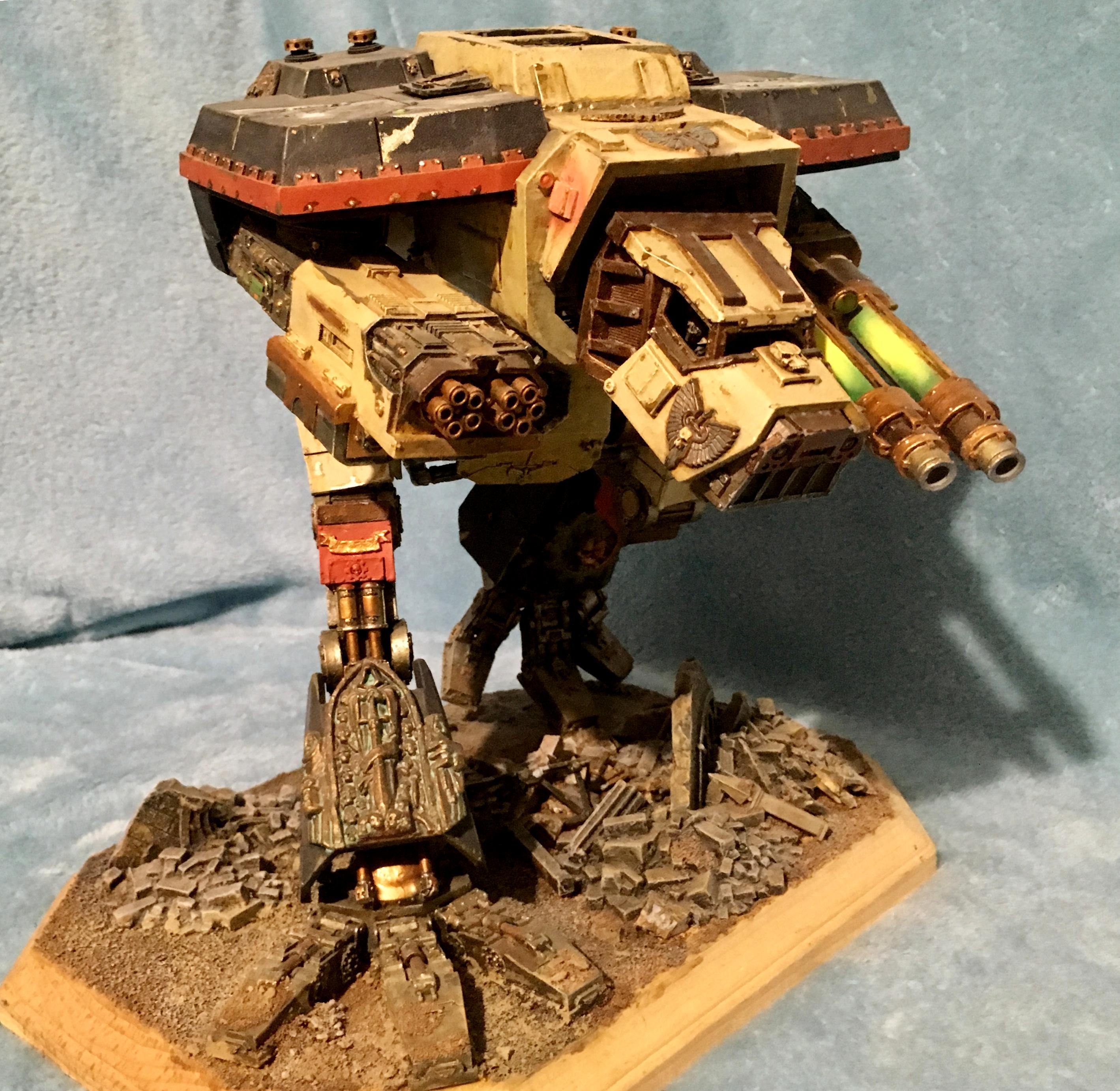 Color Scheme, Custom, Titan, War Hound, Warhammer 40,000