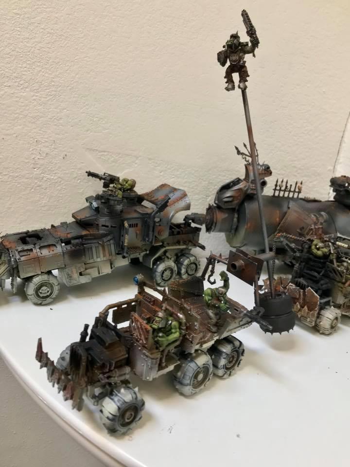 Battlewagon, Mad Max, Orks