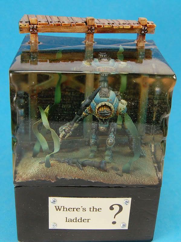 Diorama, Water Effects