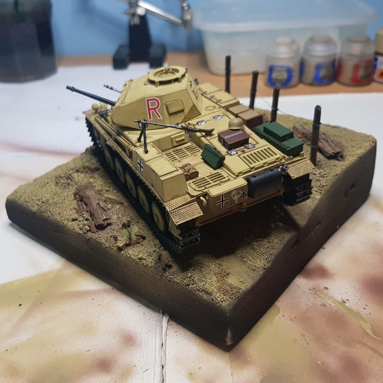 Allies, Axis, Diorama, Modern Warfare, Panzer, Scale, Scale Model, Tank, World War 2