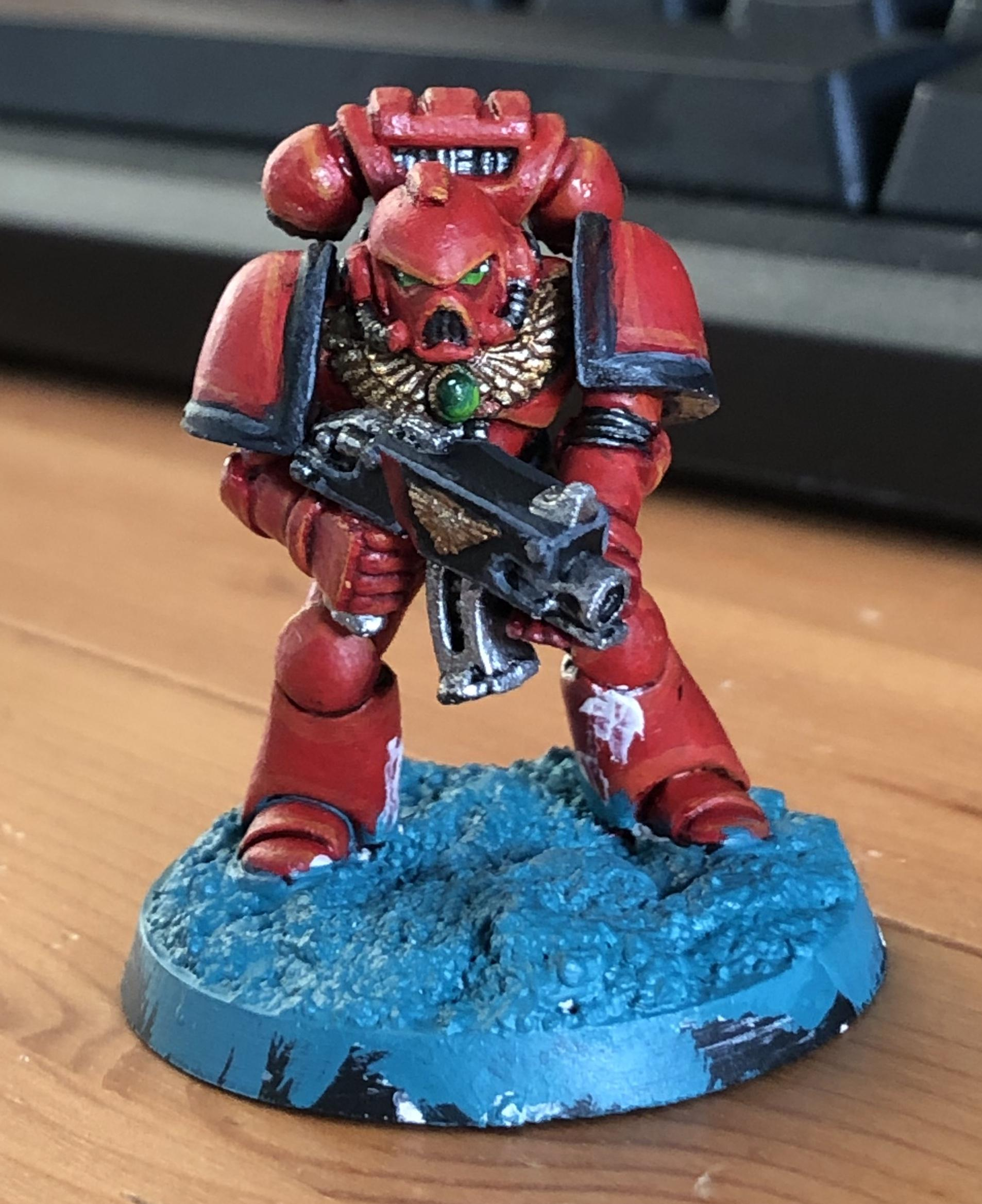 2nd Edition, Blood Angels, Space Marines
