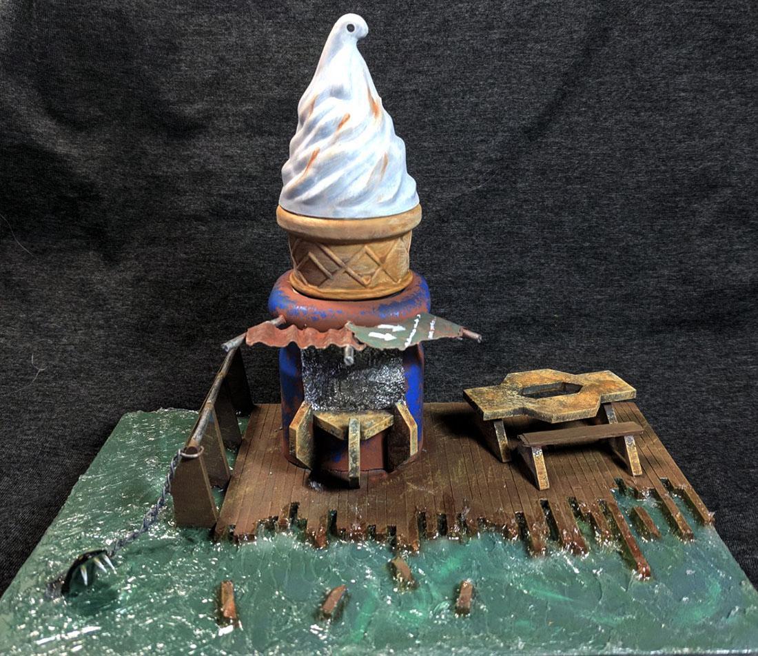Fallout, Ice Cream, Terrain