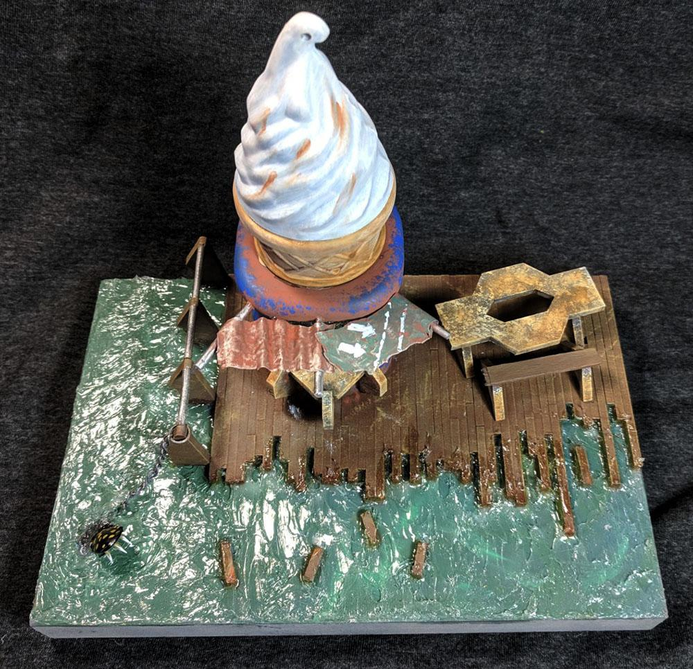 Fallout, Ice Cream, Terrain