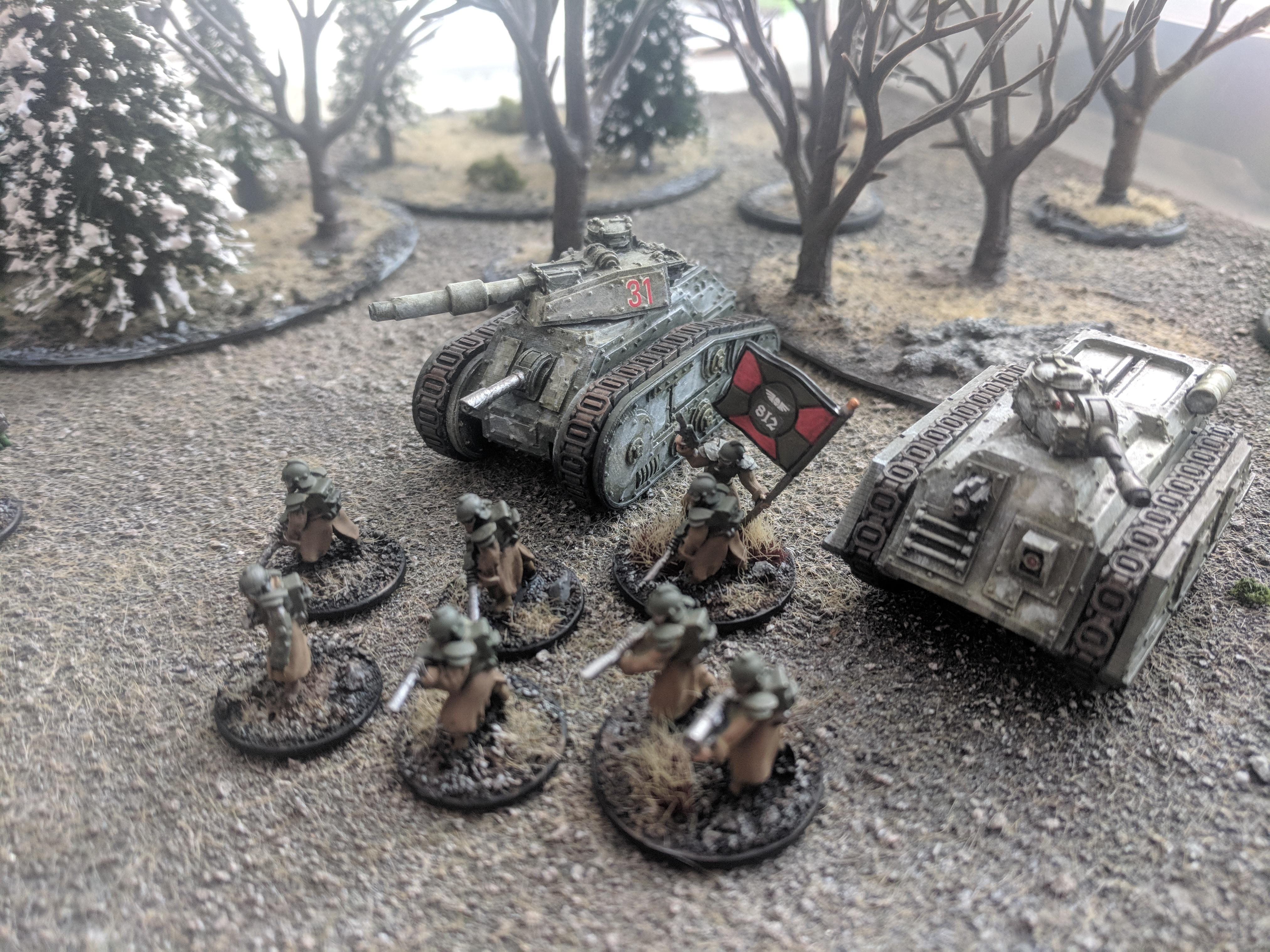 15mm, Imperial Guard, Vanguard Miniatiures, Warhammer 40,000