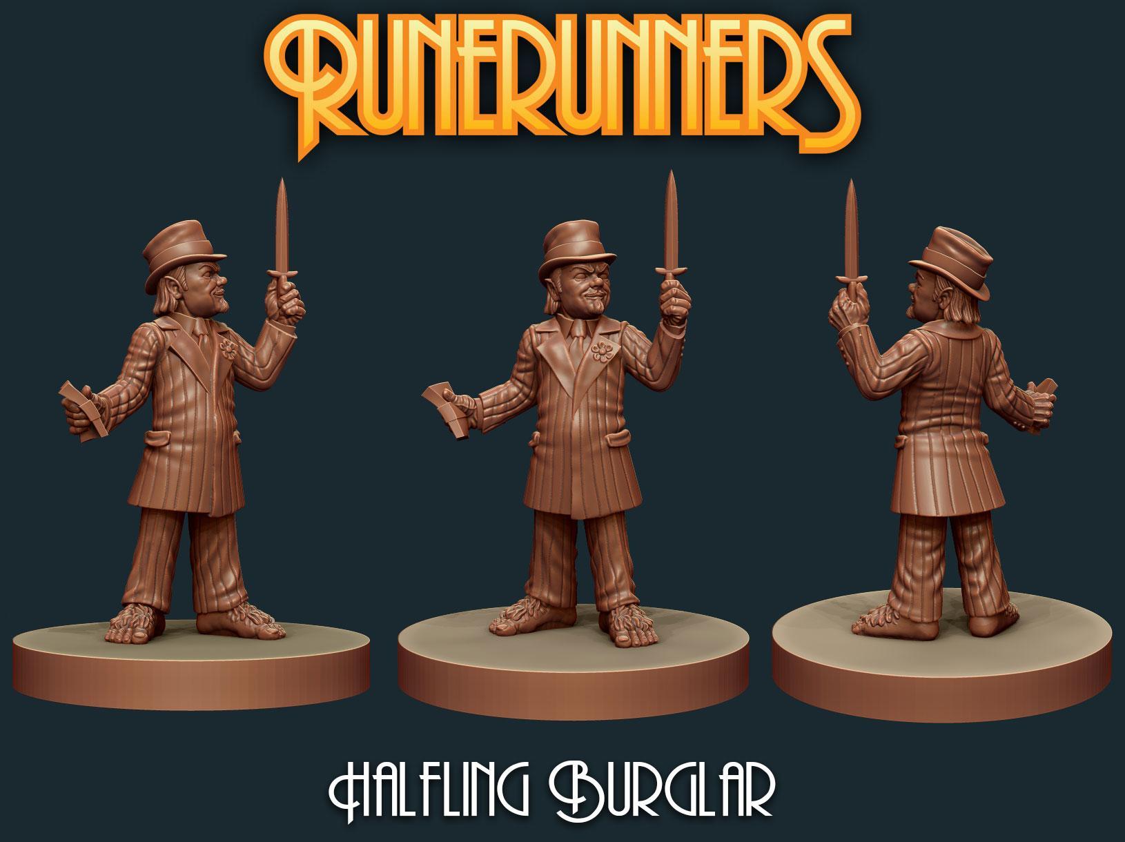 Runerunners Halfling Burglar