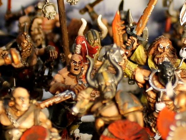 Age Of Sigmar, Barbarians, Chaos, Conan, Dark Oath, Marauders, Mortals, Sigmar, Slaves To Darkness, Warhammer Fantasy, Warriors