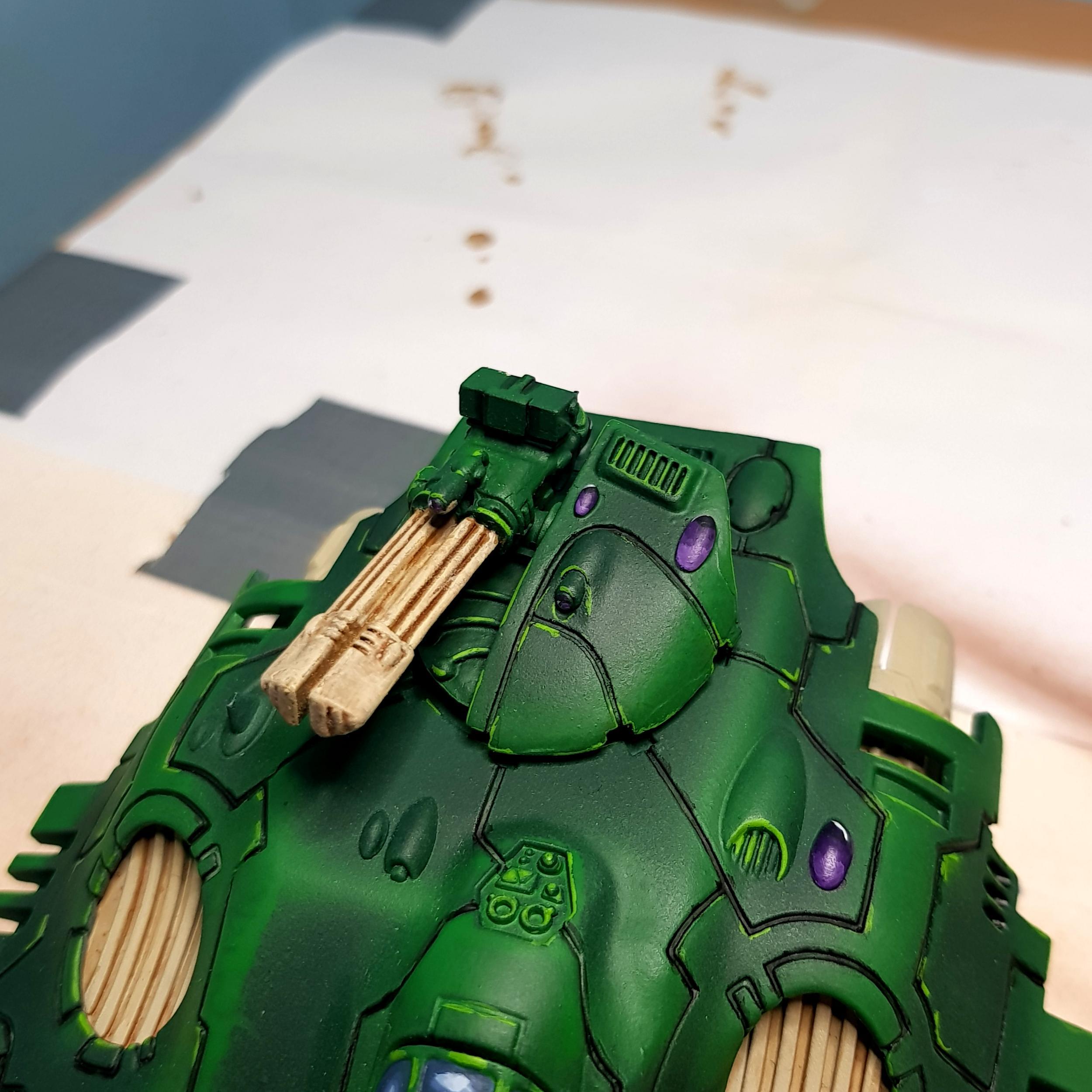 Scatter laser turret (done)