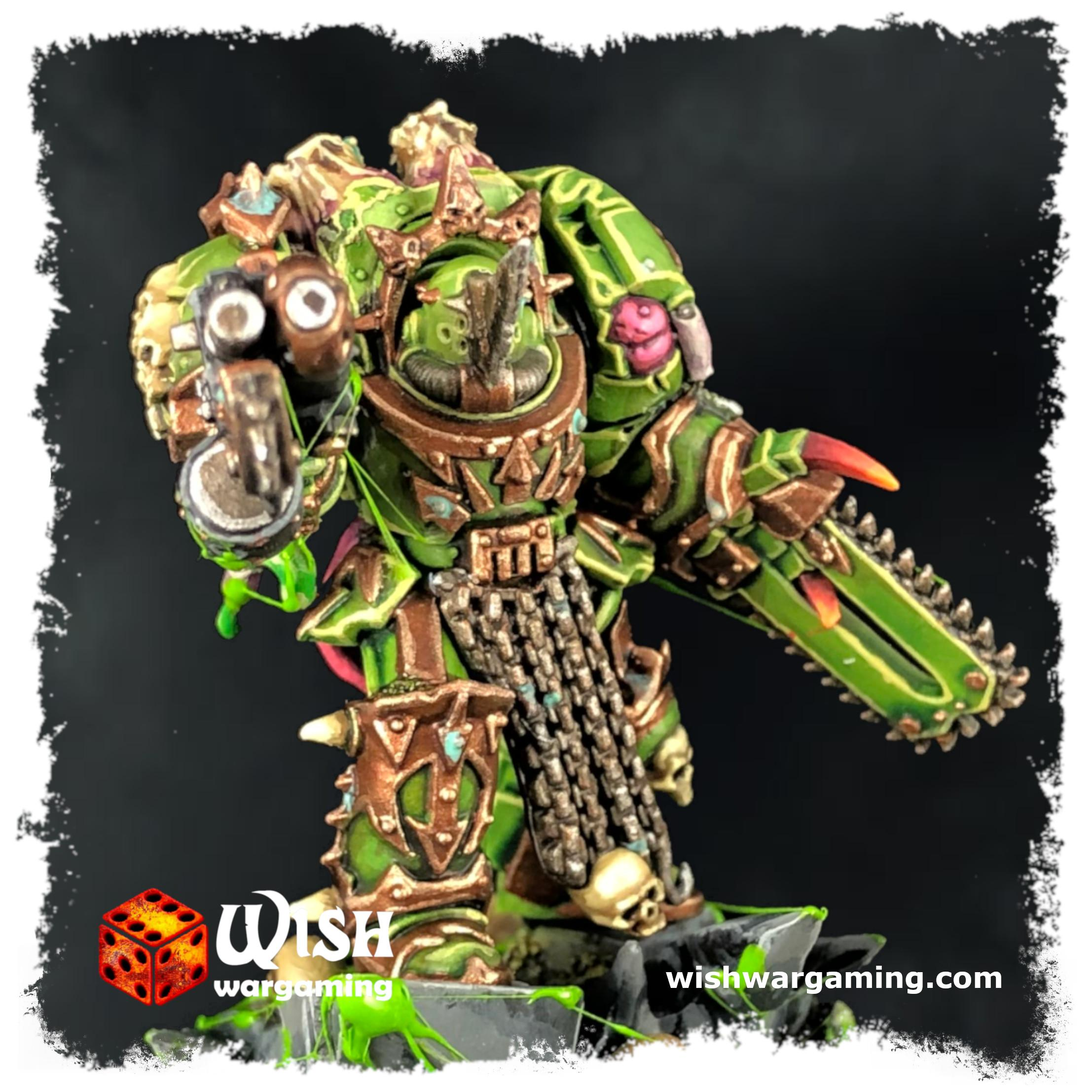 Chaos, Chaos Lord, Chaoslord, Death, Death Guard, Death Guard Lord, Guard, Lord, Lord Of Contagion, Nurgle, Plague Marines