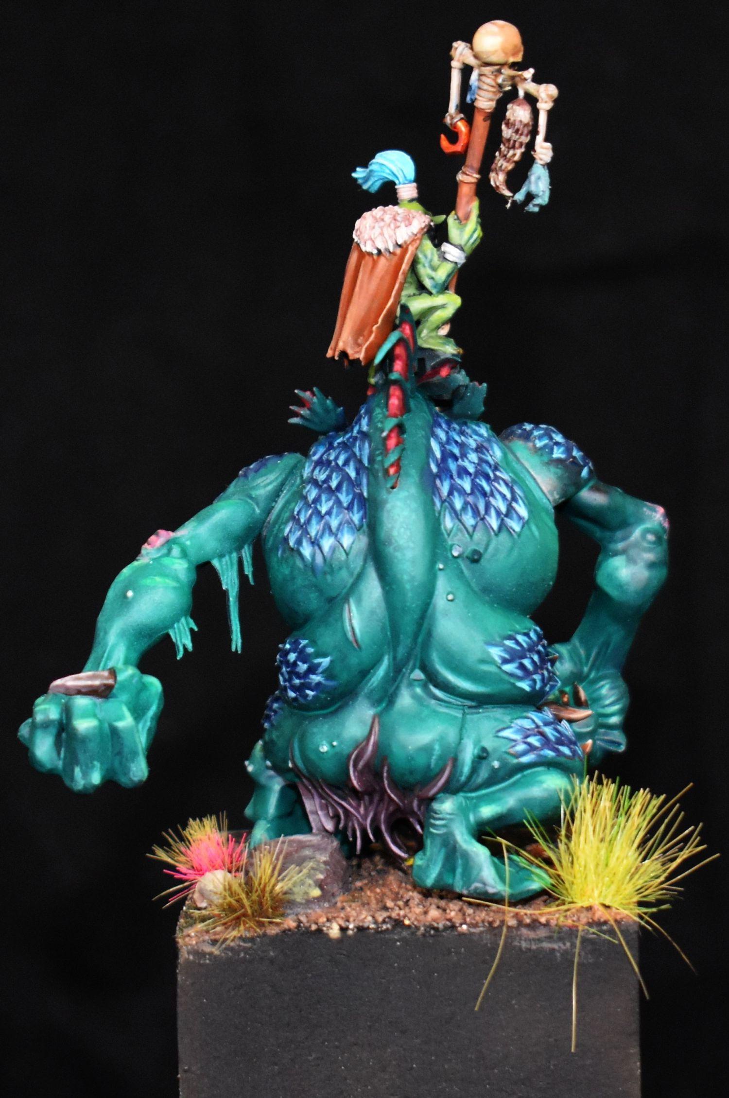 Diorama, Goblins, Orcs, Troll