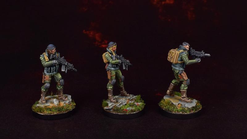 Ariadna, Infinity, Line Kazaks, Tartary Army Corps