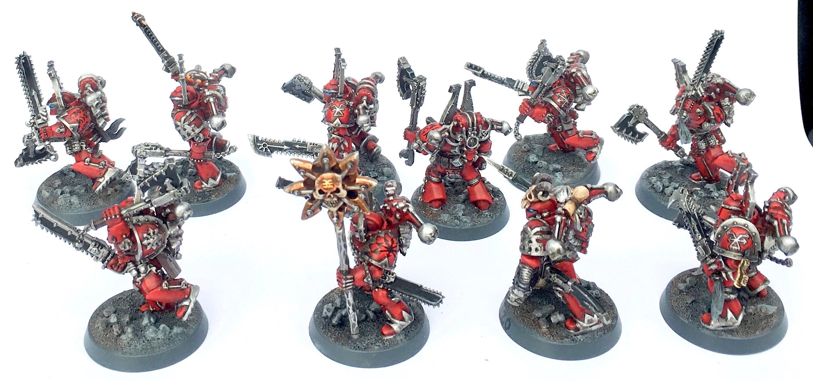 Berserkers, Chaos, Chaos Space Marines, Khorne, Word Bearers