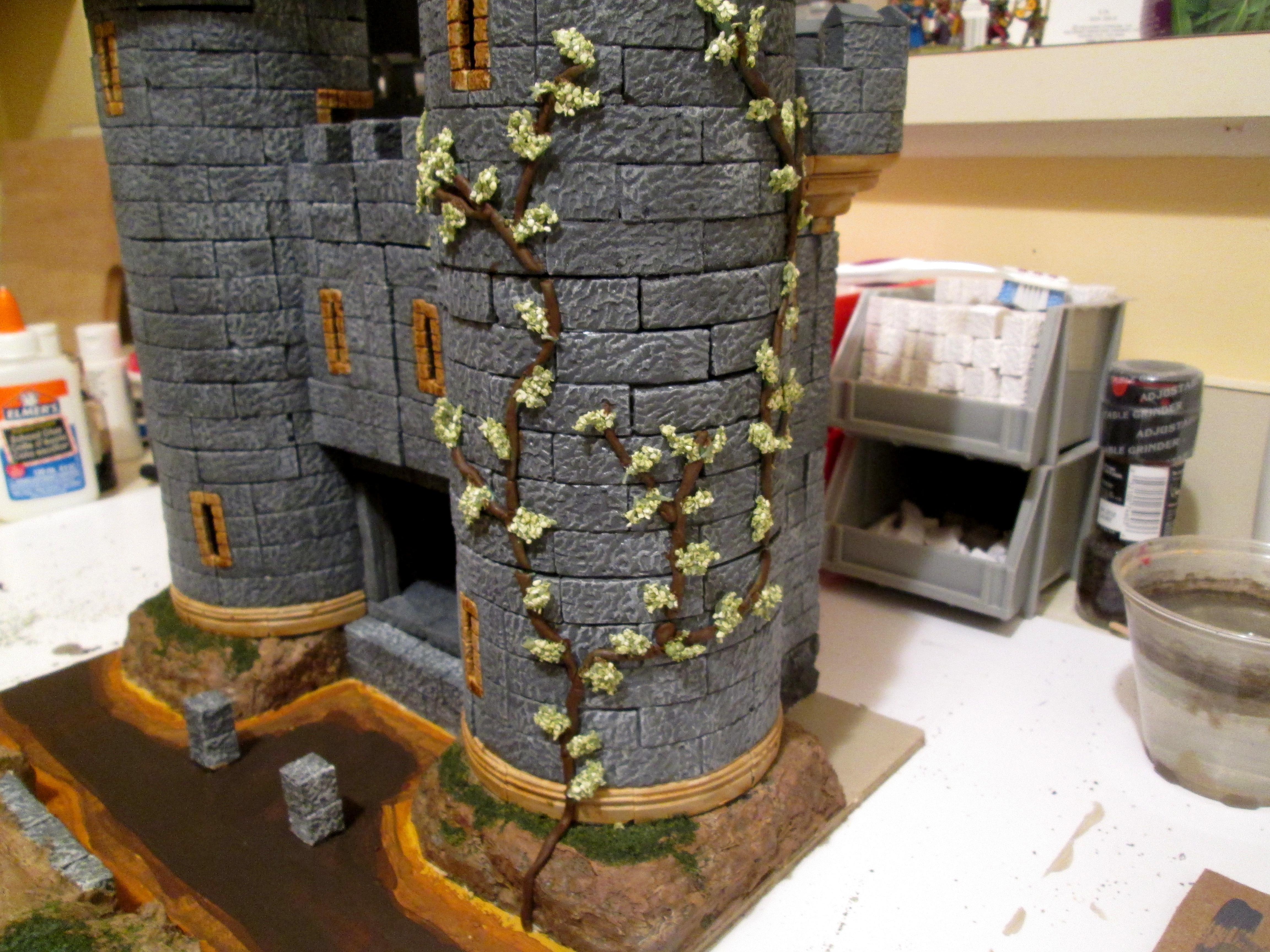 Castle, Gatehouse, Hirst Arts, Terrain