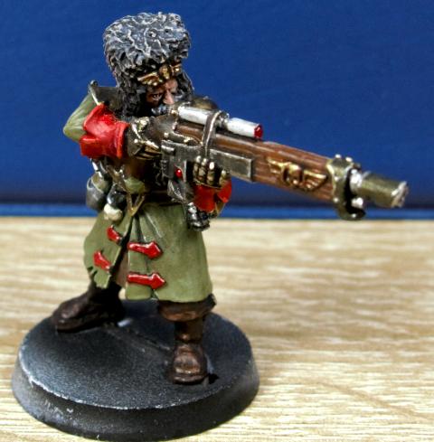 Imperial Guard, Russians, Vostroya, Vostroyan, Warhammer 40,000