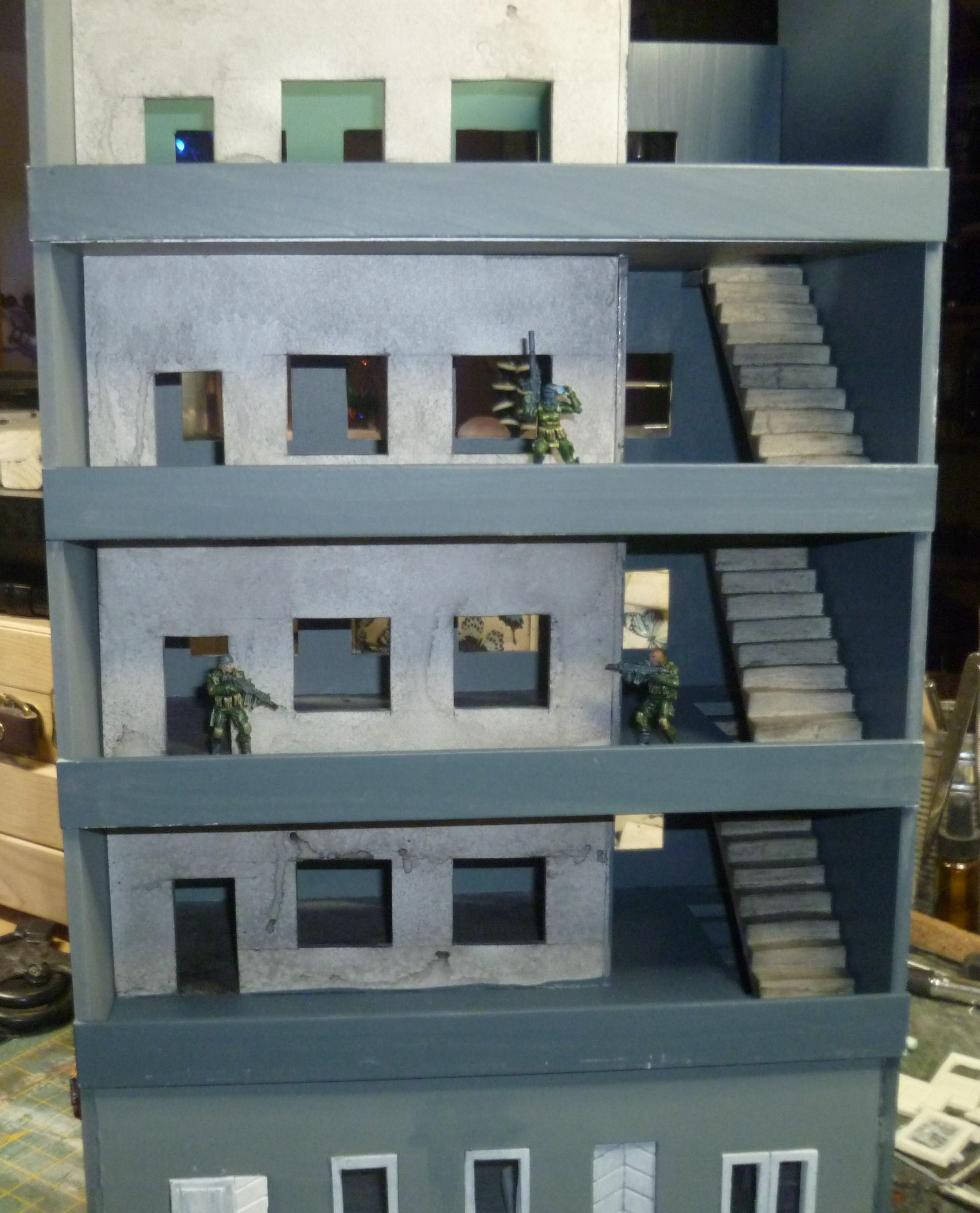 Apartements, Big, Modern, Tall, Terrain
