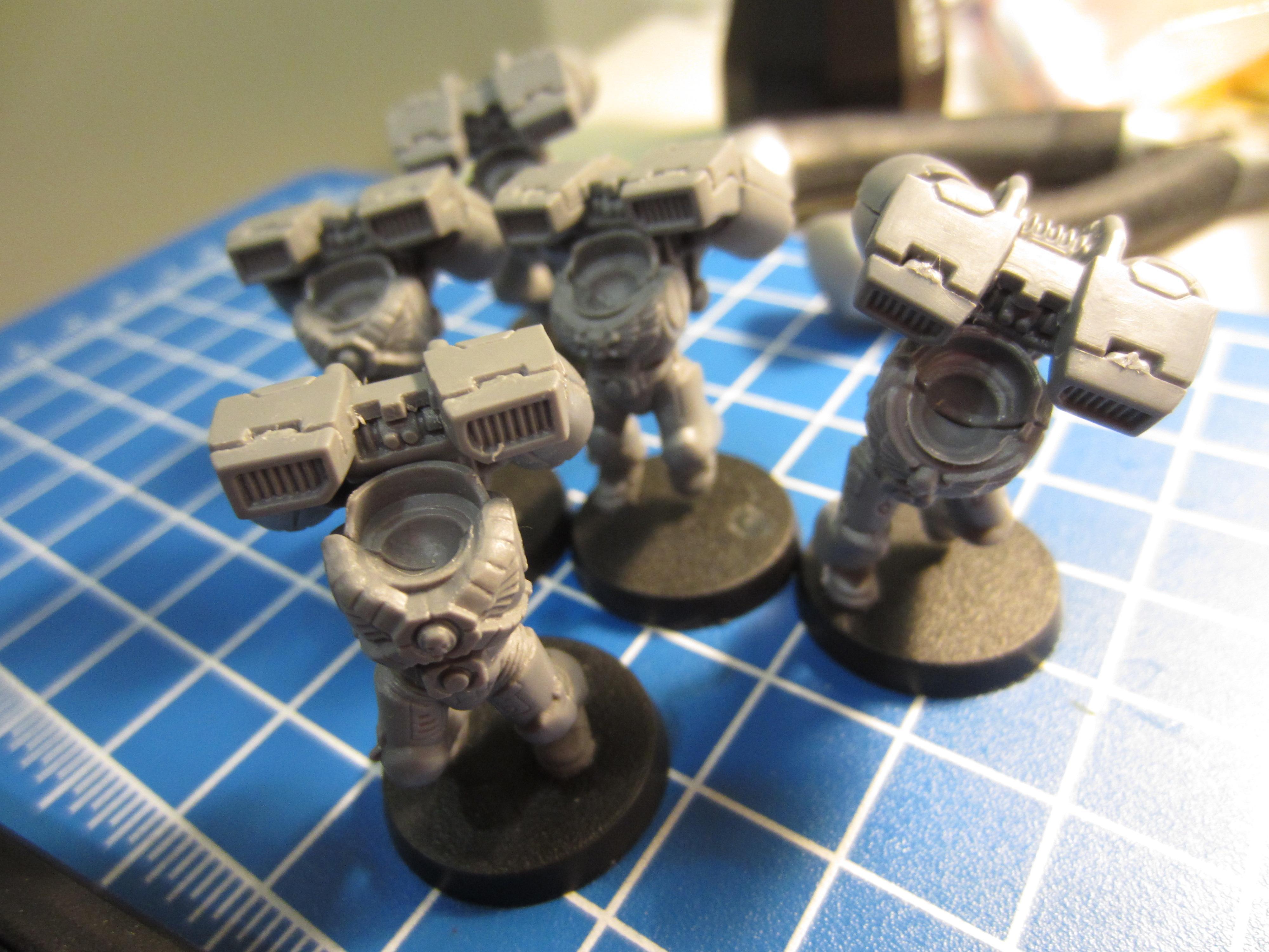 Assault Marine assembly line