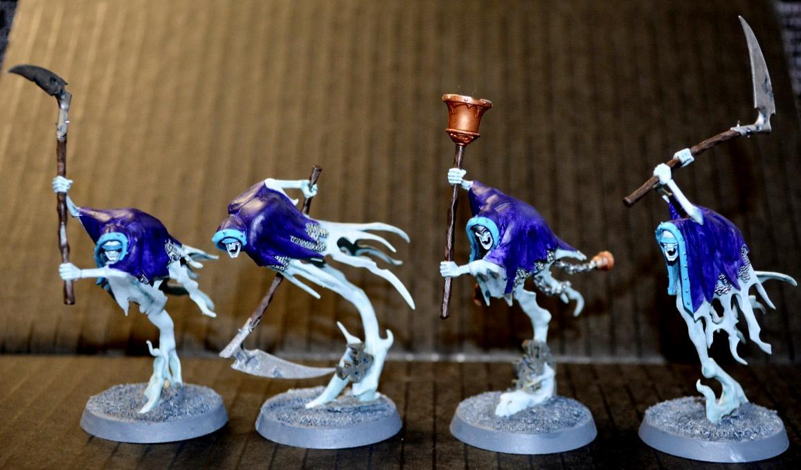 Age Of Sigmar, Grimghast Reapers, Nighthaunt, Nighthaunts