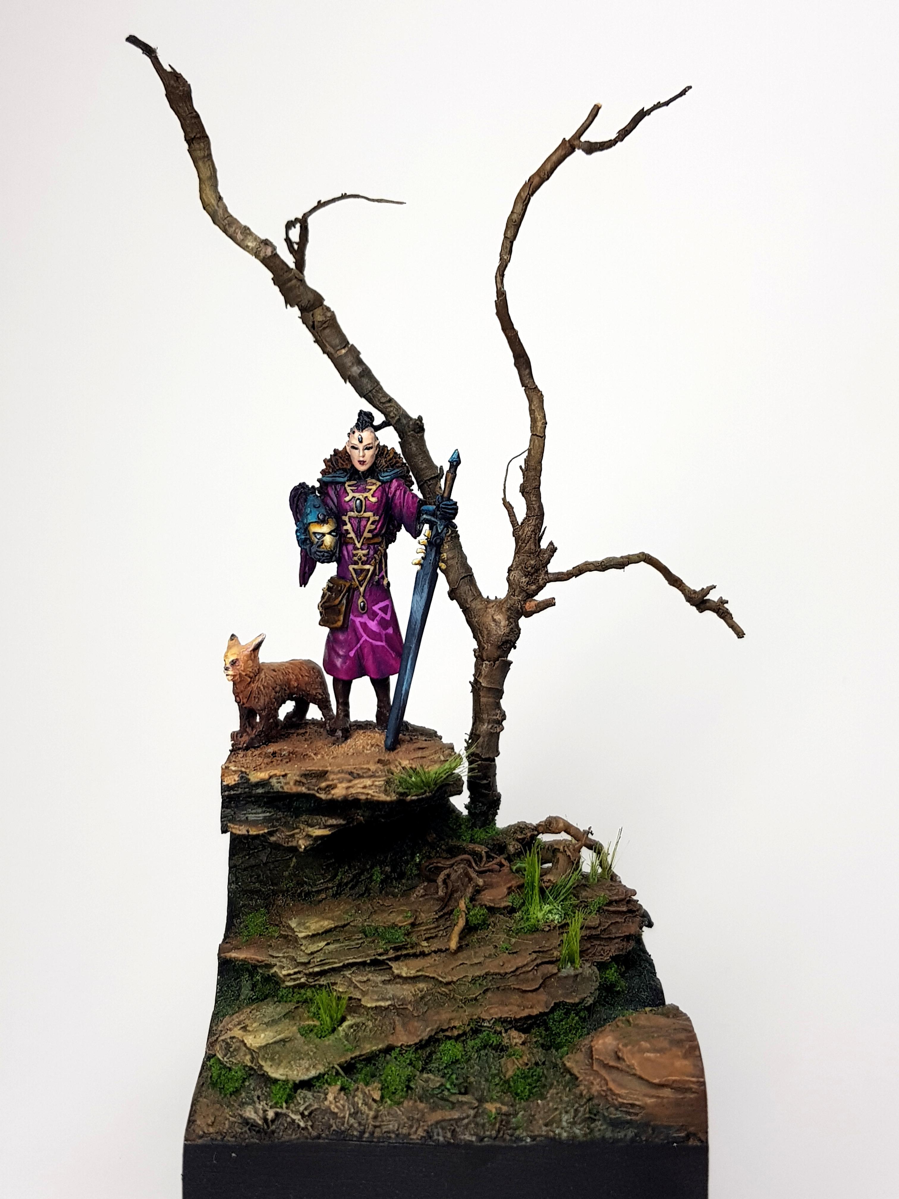 Eldar, Eldar Warlock, Gyrinx, Warhammer 40,000, Warlock