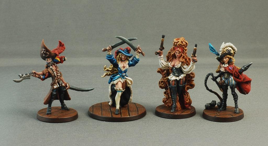 Female, Pirates, Rum & Bones, Rum And Bones