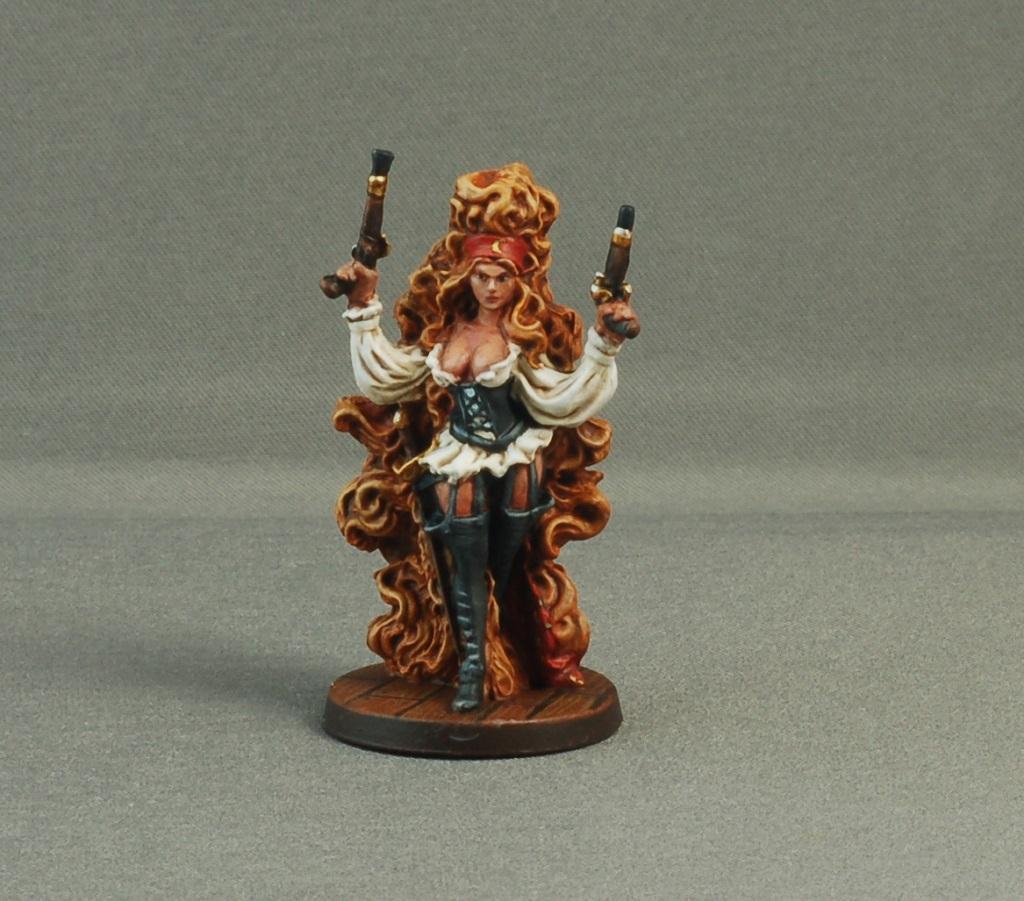 Female, Hair, Pirates, Rum & Bones