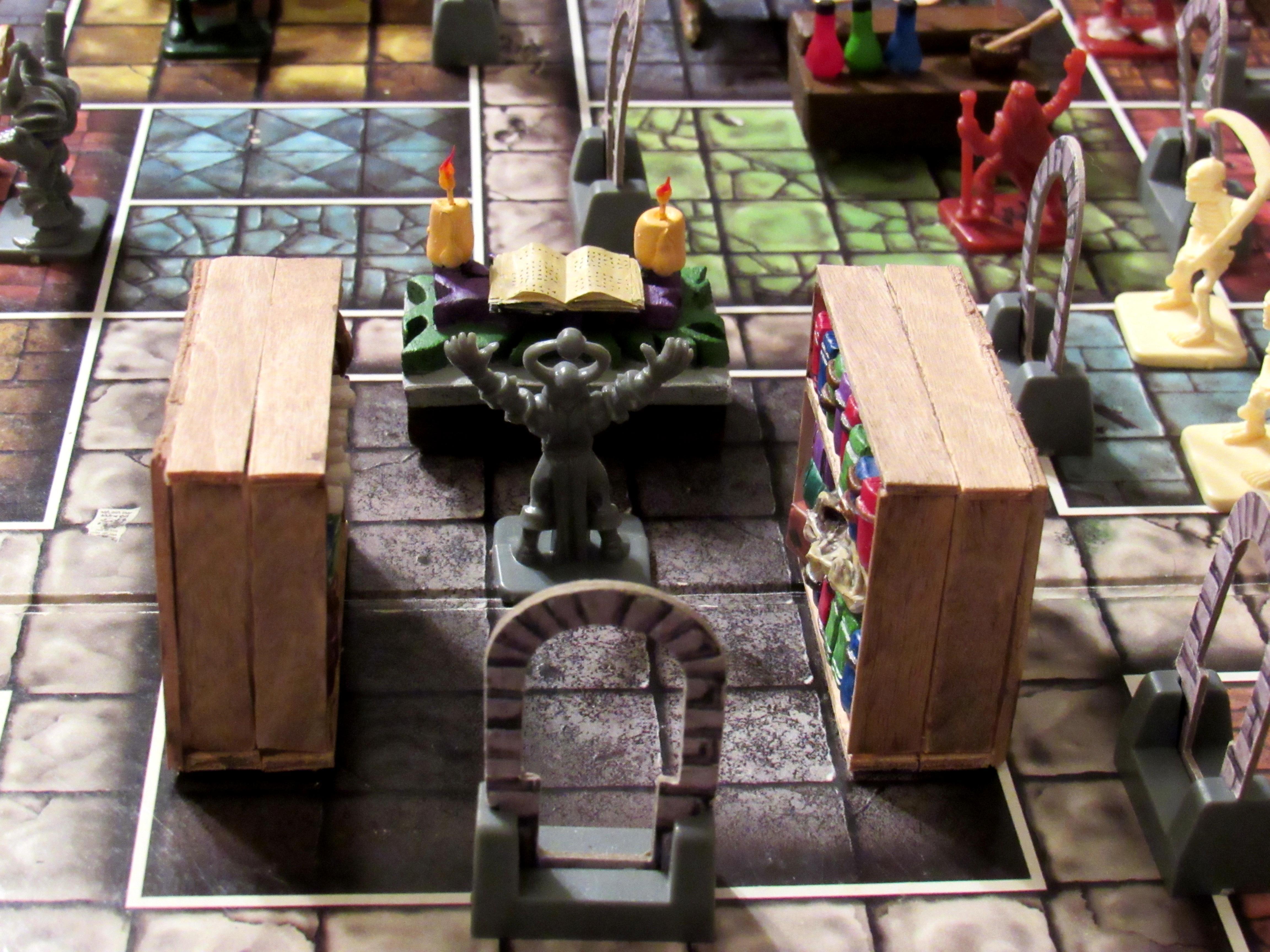 Hero Quest display