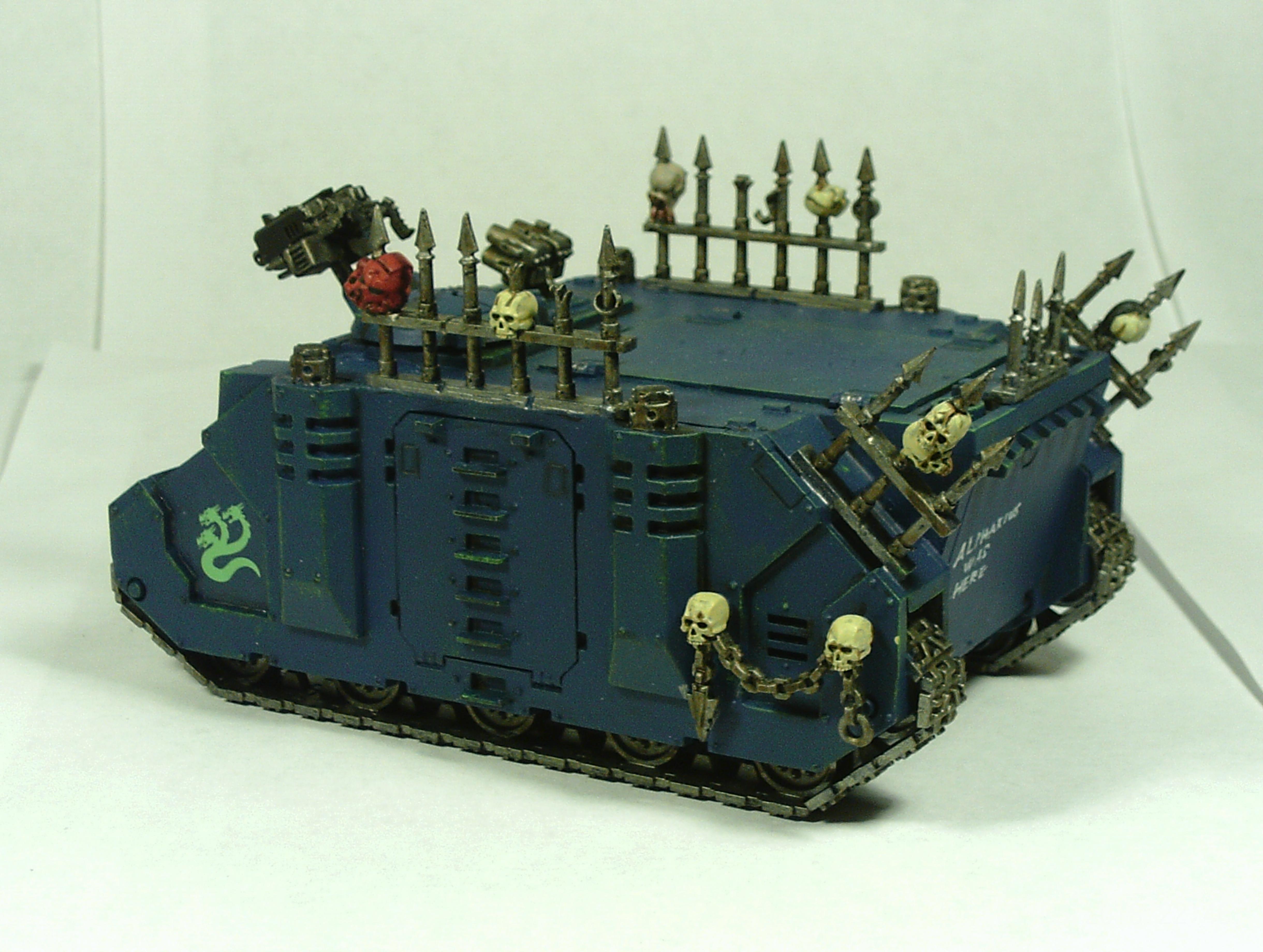 Alpha, Apc, Chaos, Legion, Rhino, Space, Space Marines, Transport, Vehicle