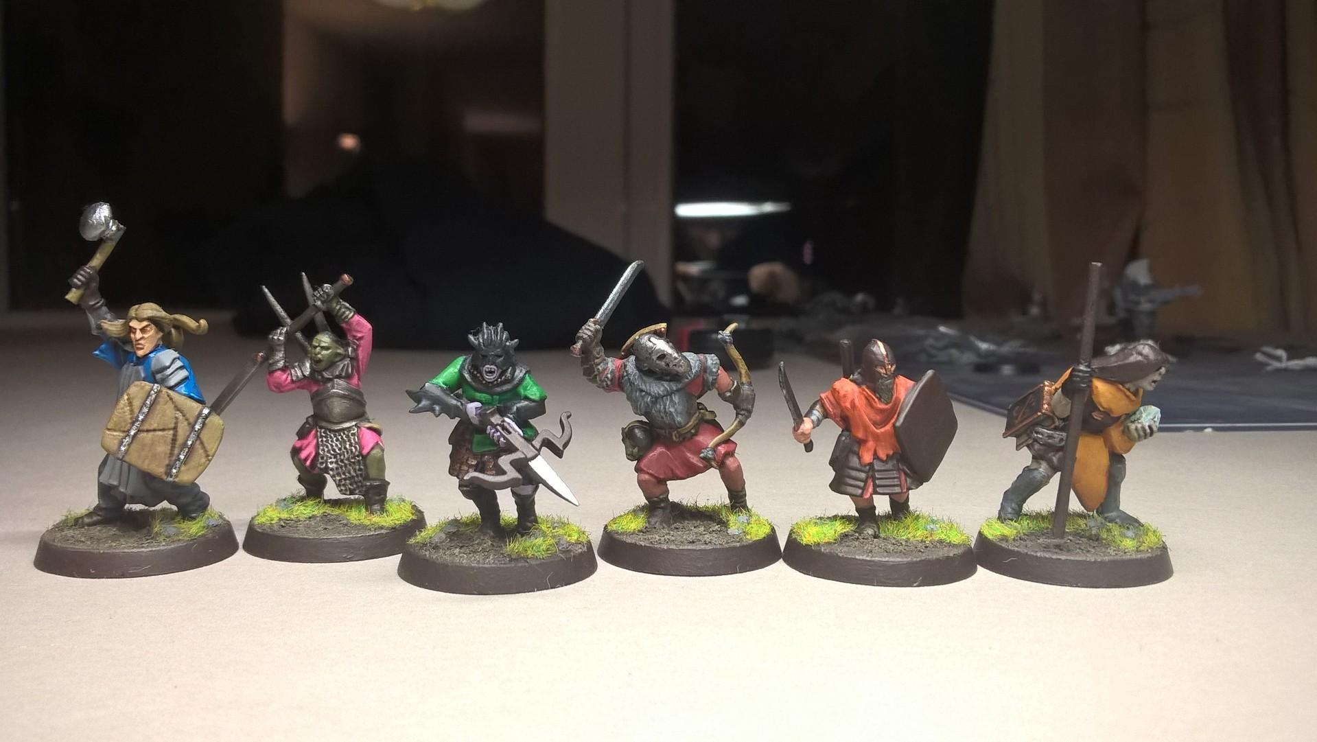Adventurers, Conversion, Dungeons And Dragons, Group, Party