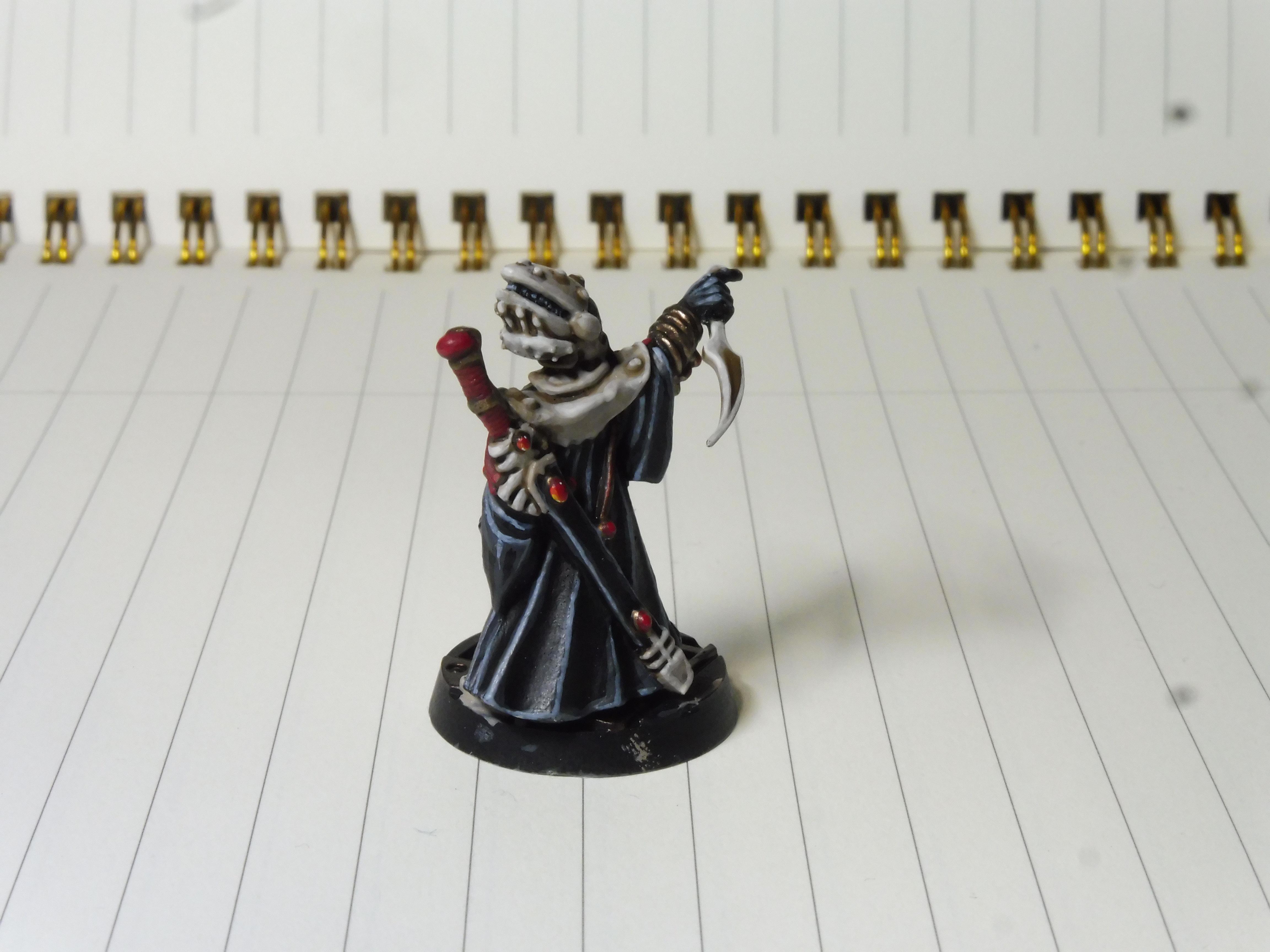 Bone, Custom Paint Scheme, Dark Eldar, Drukhari, Eldar, Ivory, Kabal, Kabalite, Kabalite Warrior, Paint Scheme, Rangers, Splinter Rifle