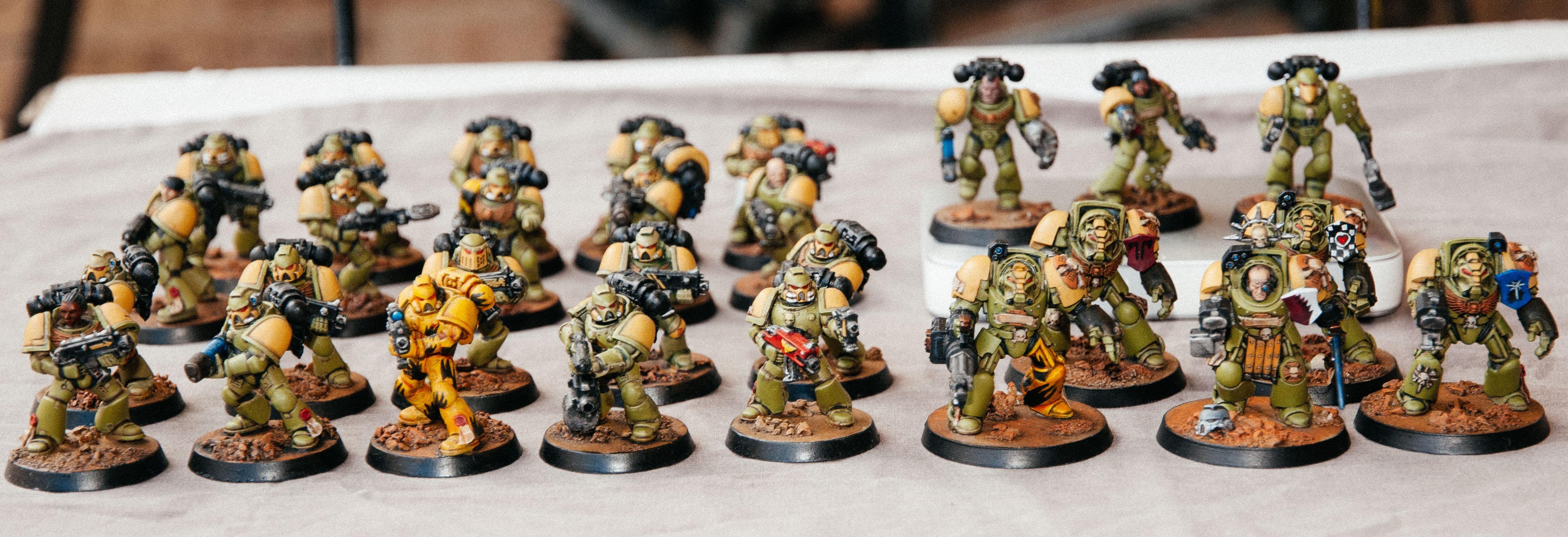 Command, Lieutenants, Mantis Warriors, Space Marines, Tactical Squad, Terminator Armor, Veteran