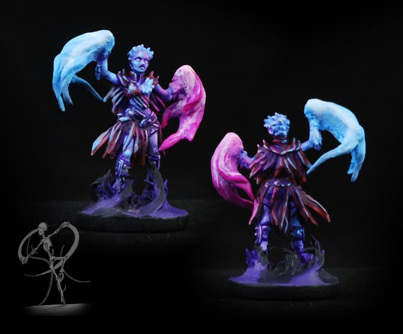 Conversion, Gloomhaven, Magic, Object Source Lighting, Sculpting, Sorceress