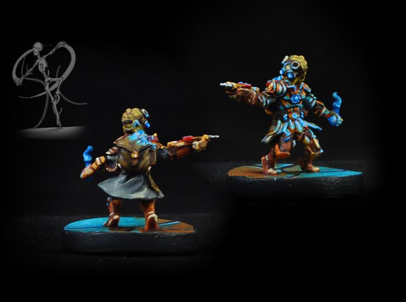 Conversion, Gloomhaven, Gnome, Object Source Lighting, Sculpting, Steampunk